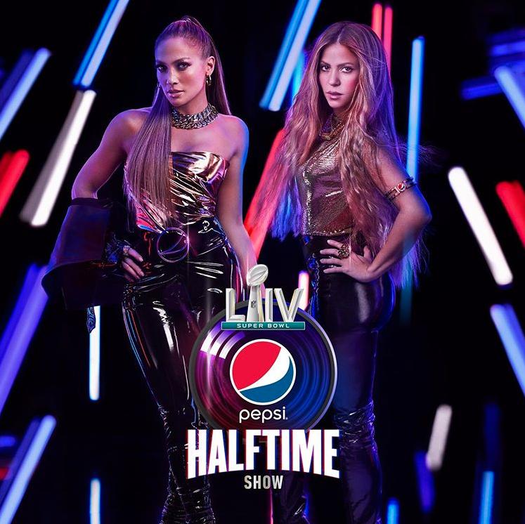 Jennifer Lopez y Shakira Super Bowl1