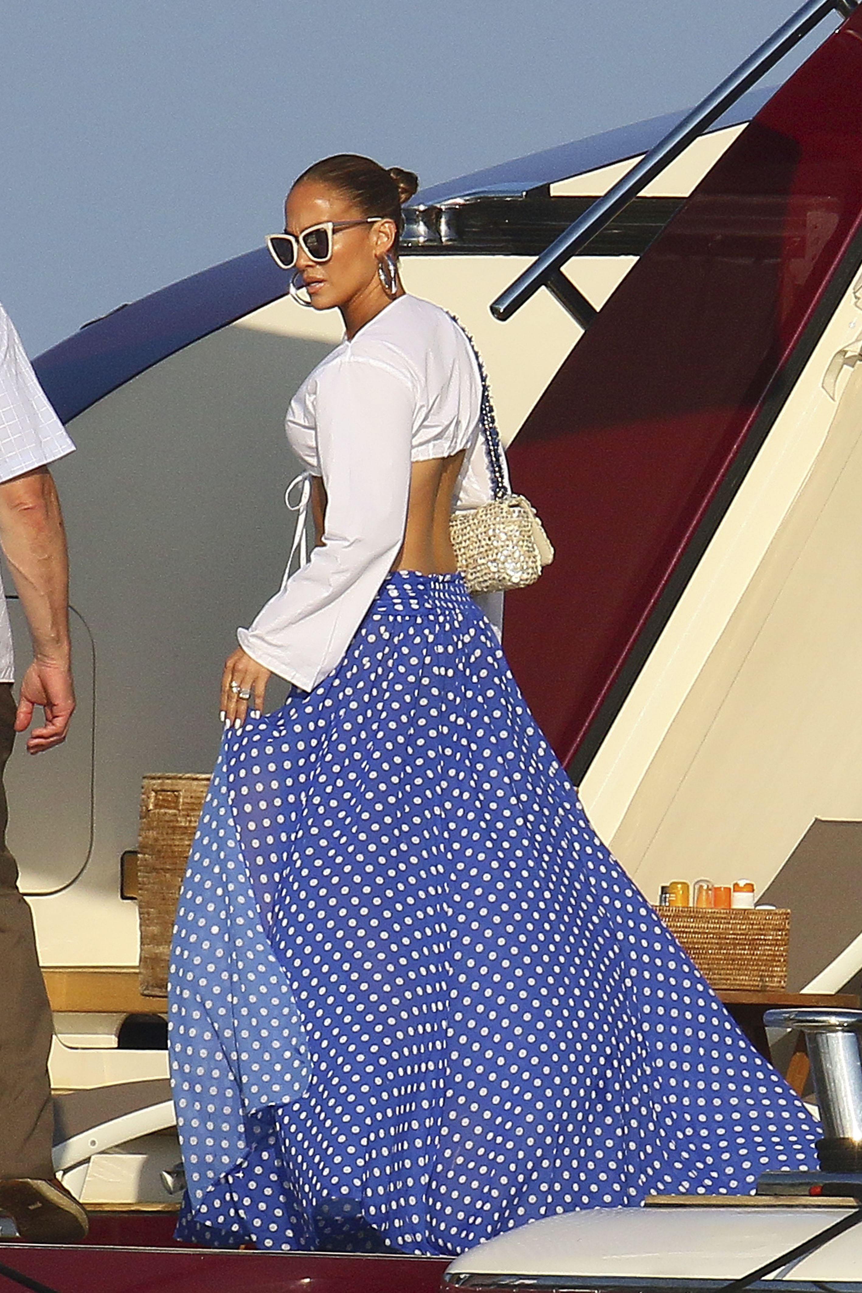 Jennifer Lopez, looks, playa, yate, Jlo