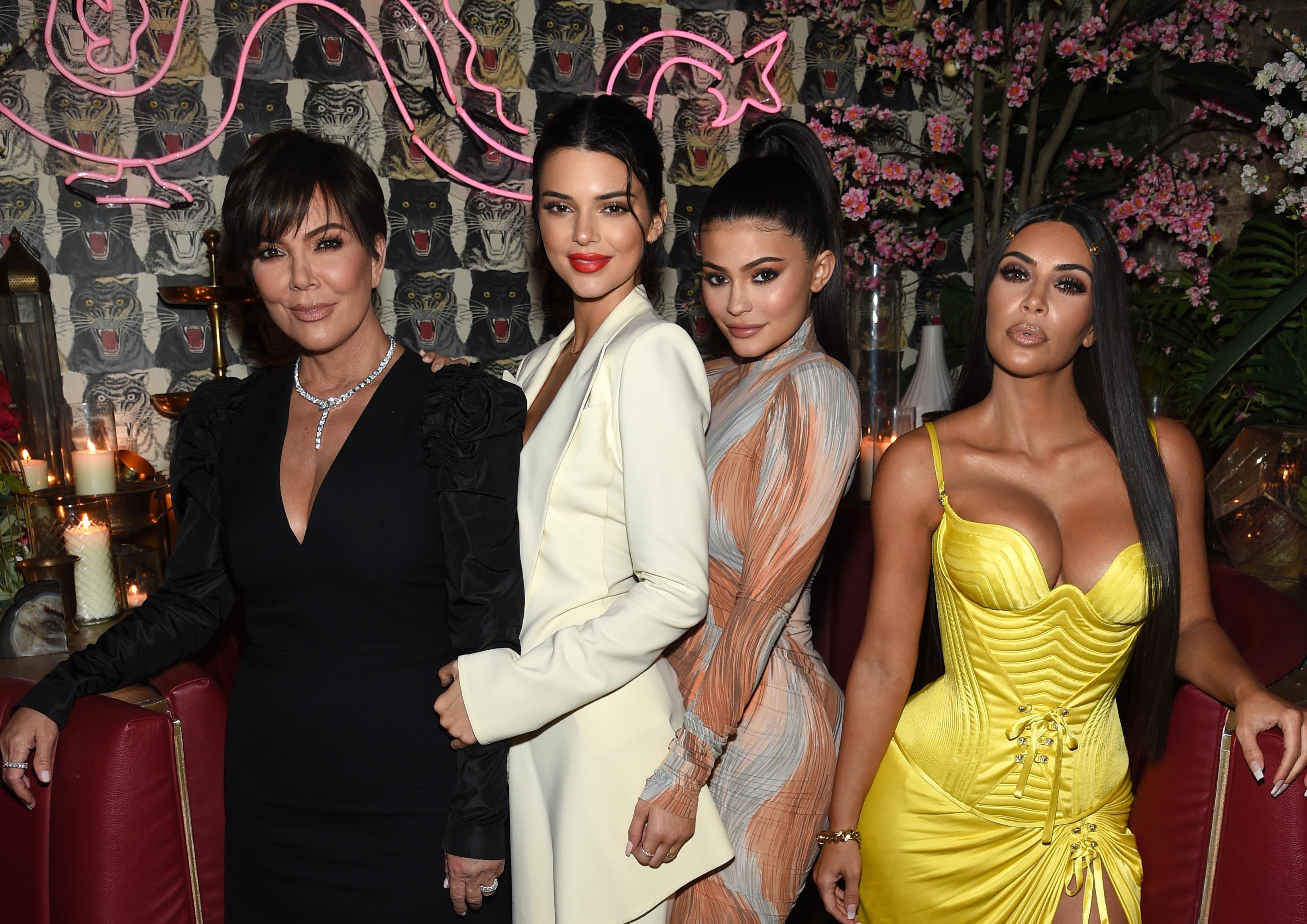 Kris Jenner, Model Kendall Jenner, Founder, Kylie Cosmetics Kylie Jenner Kim Kardashian