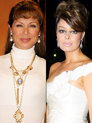 Yadhira Carrillo y Leticia Calderón