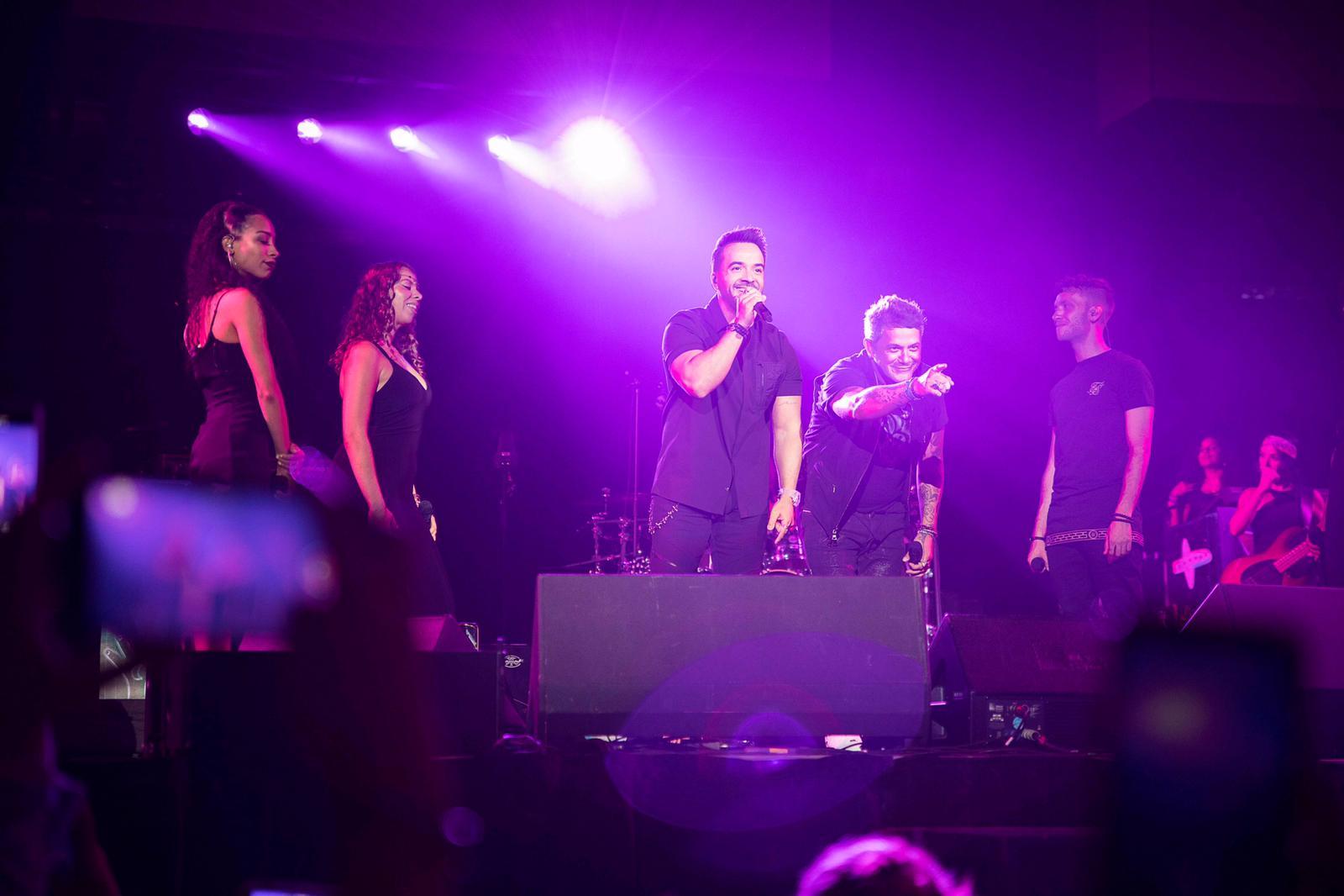 Luis Fonsi concierto Alejandro Sanz en miami