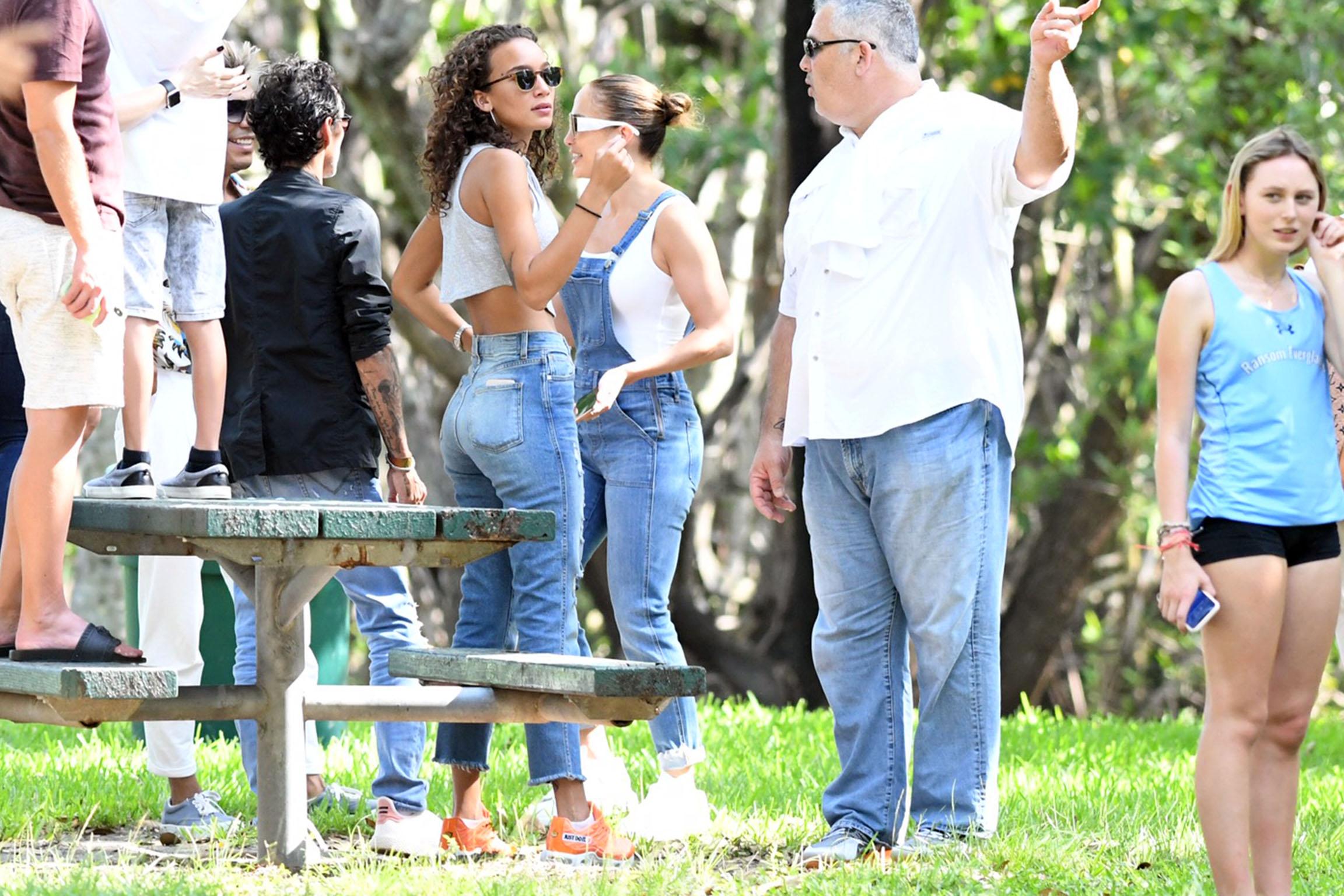 Marc Anthony, Jessica Lynne Harris, Jennifer Lopez