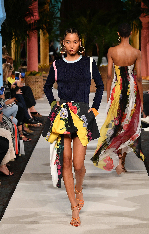 oscar de la renta, show, fesfile, semana de la moda, new york fashion week