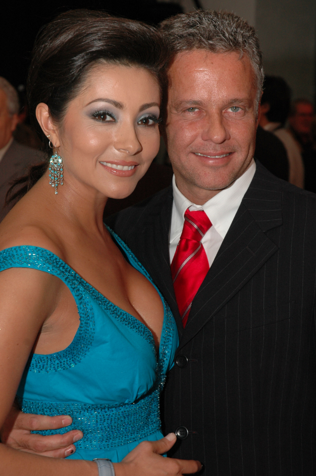 Paty Diaz y Alexis Ayala