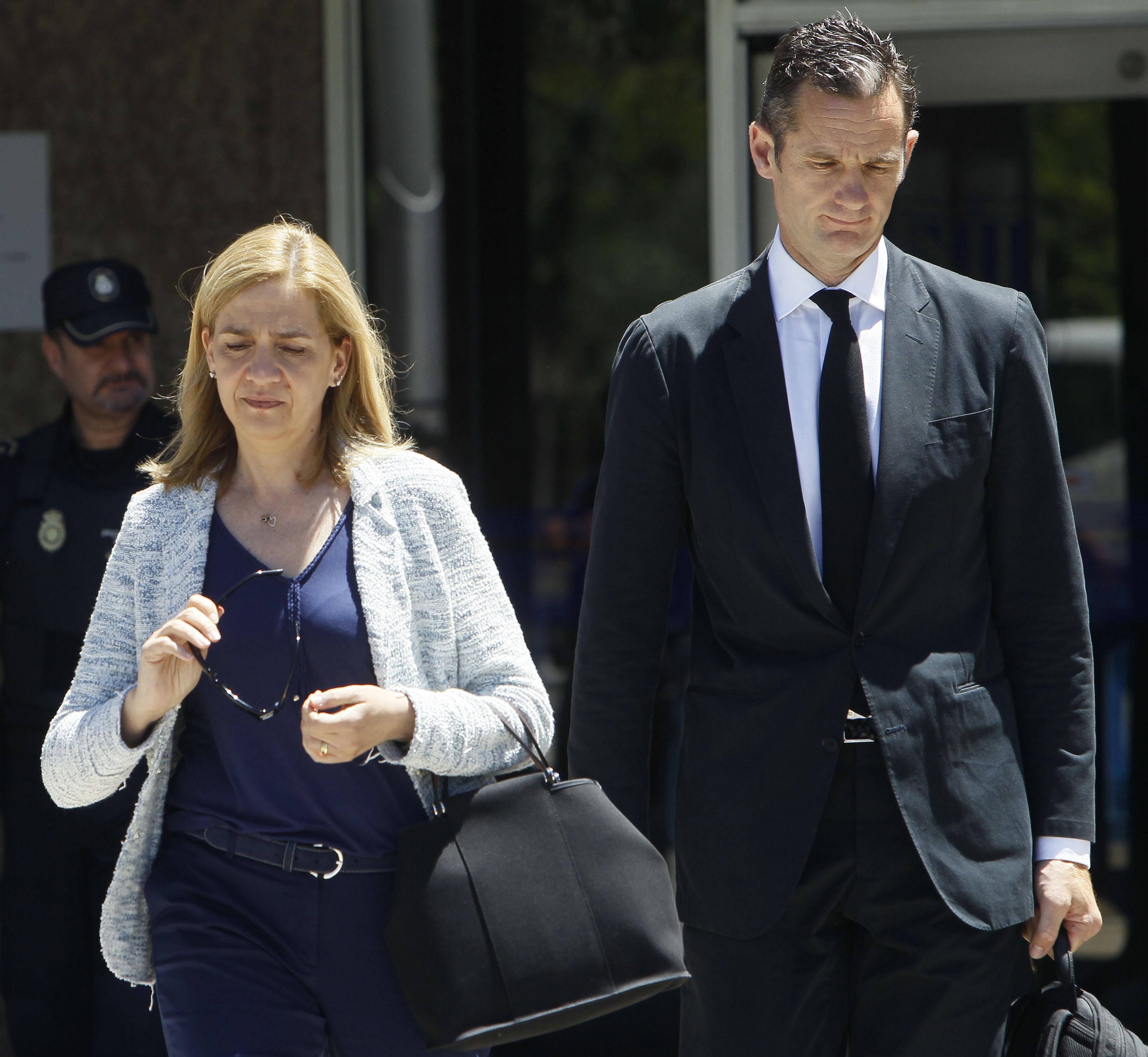 Princesa Cristina de España y su esposo Inaki Urdangarin