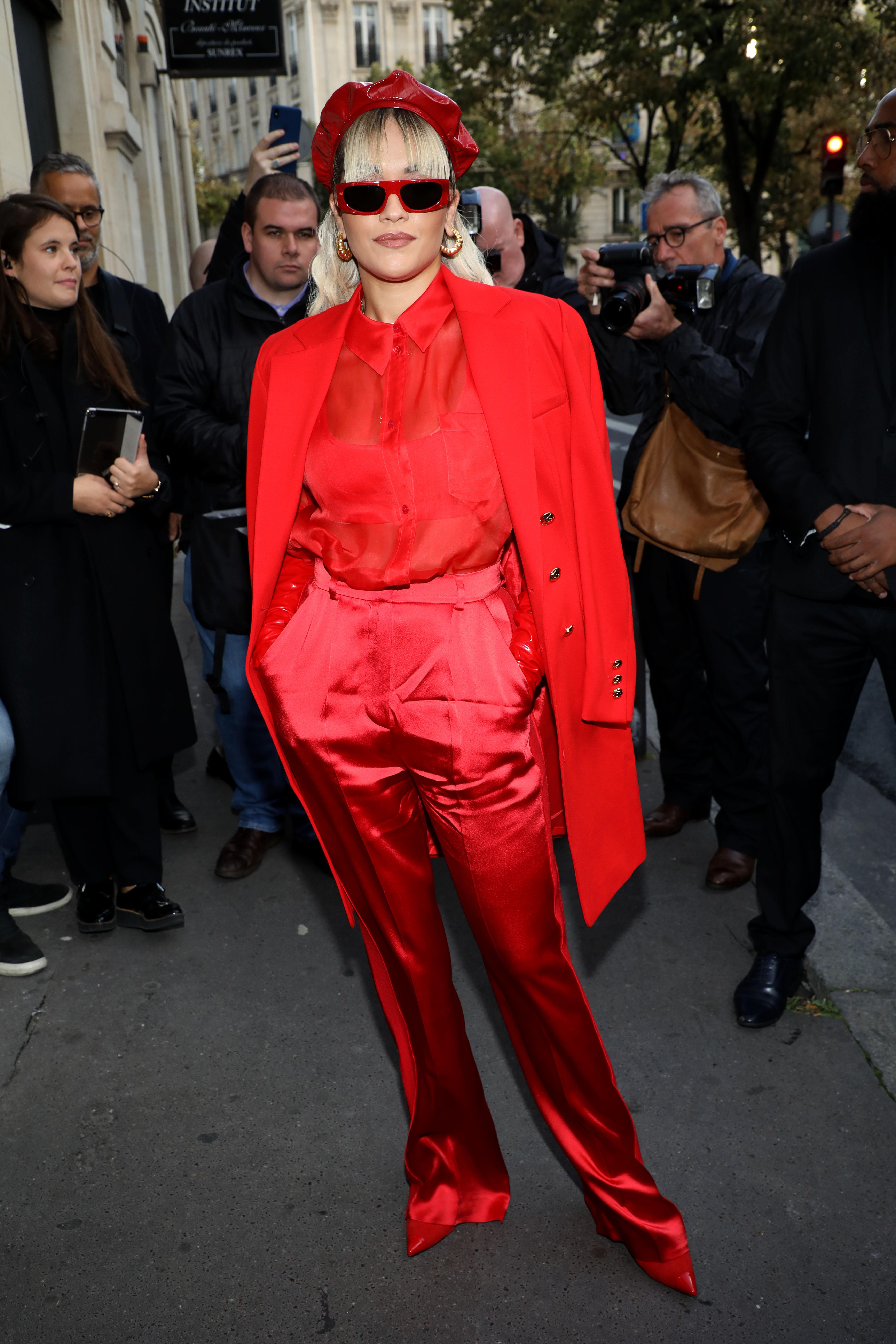 Rita Ora, looks, Paris, Semana de la moda