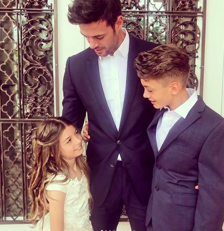 William Levy, hijos, Tophy, Kailey