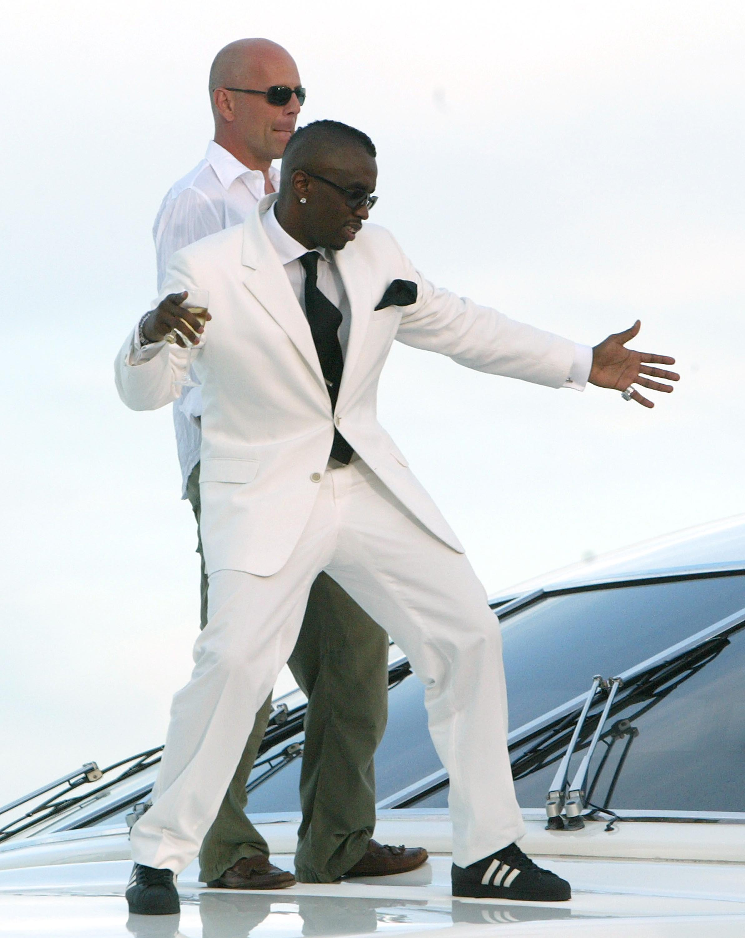 Sean  Diddy  Combs y Bruce Willis