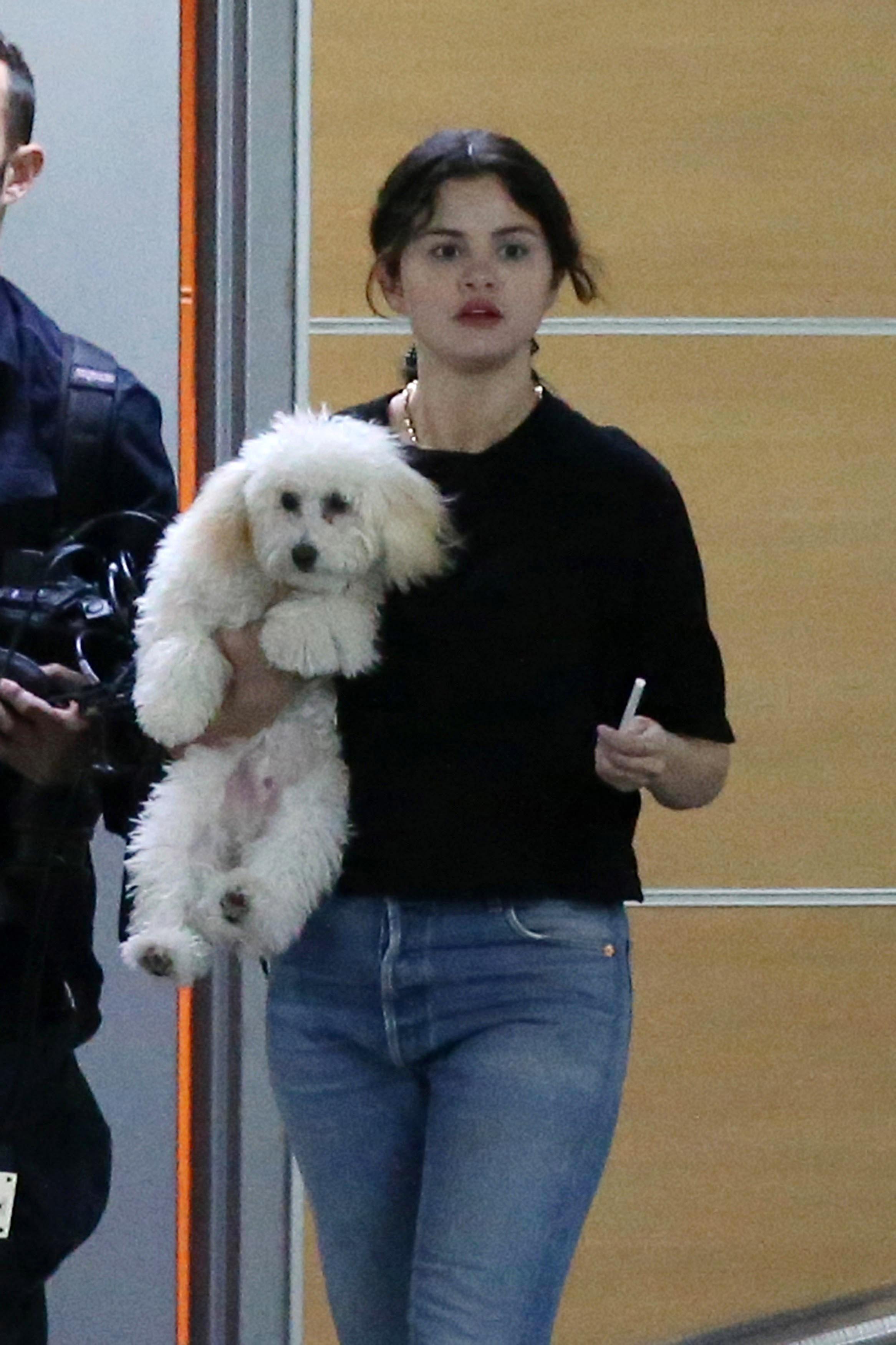 Selena Gómez, perro, Winnie