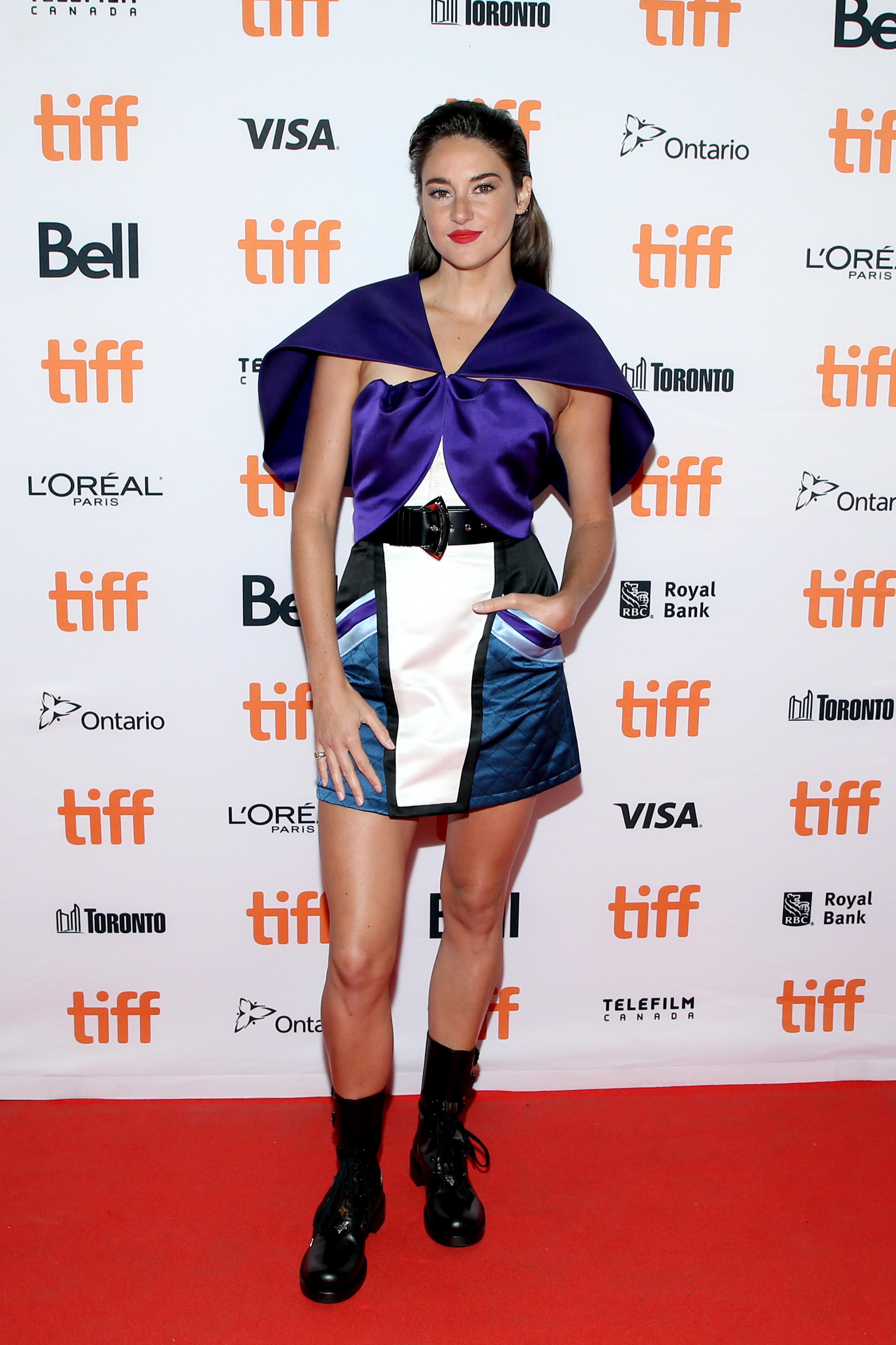 Shailene Woodley, looks, Toronto