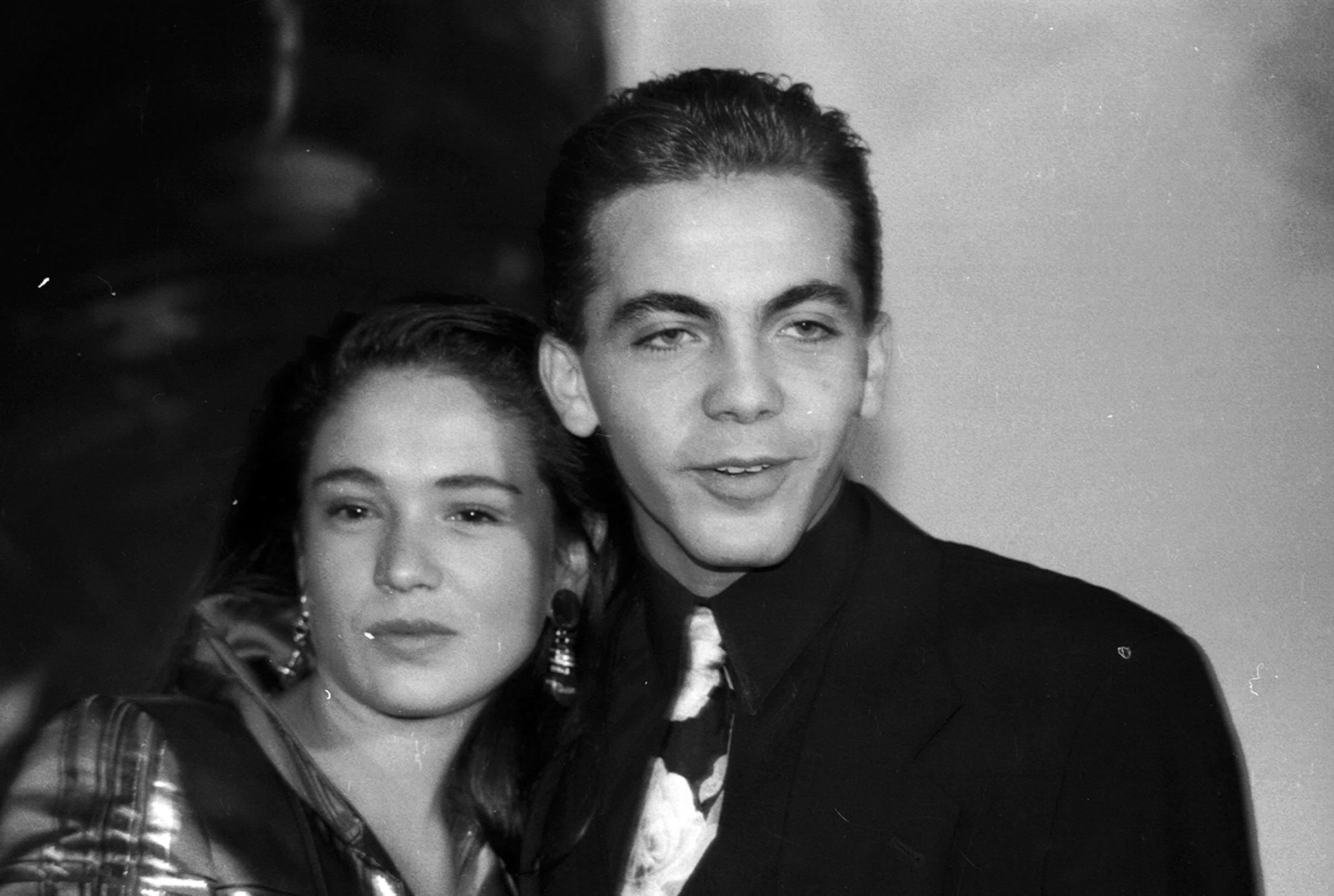 Yolanda Andrade y Cristian Castro