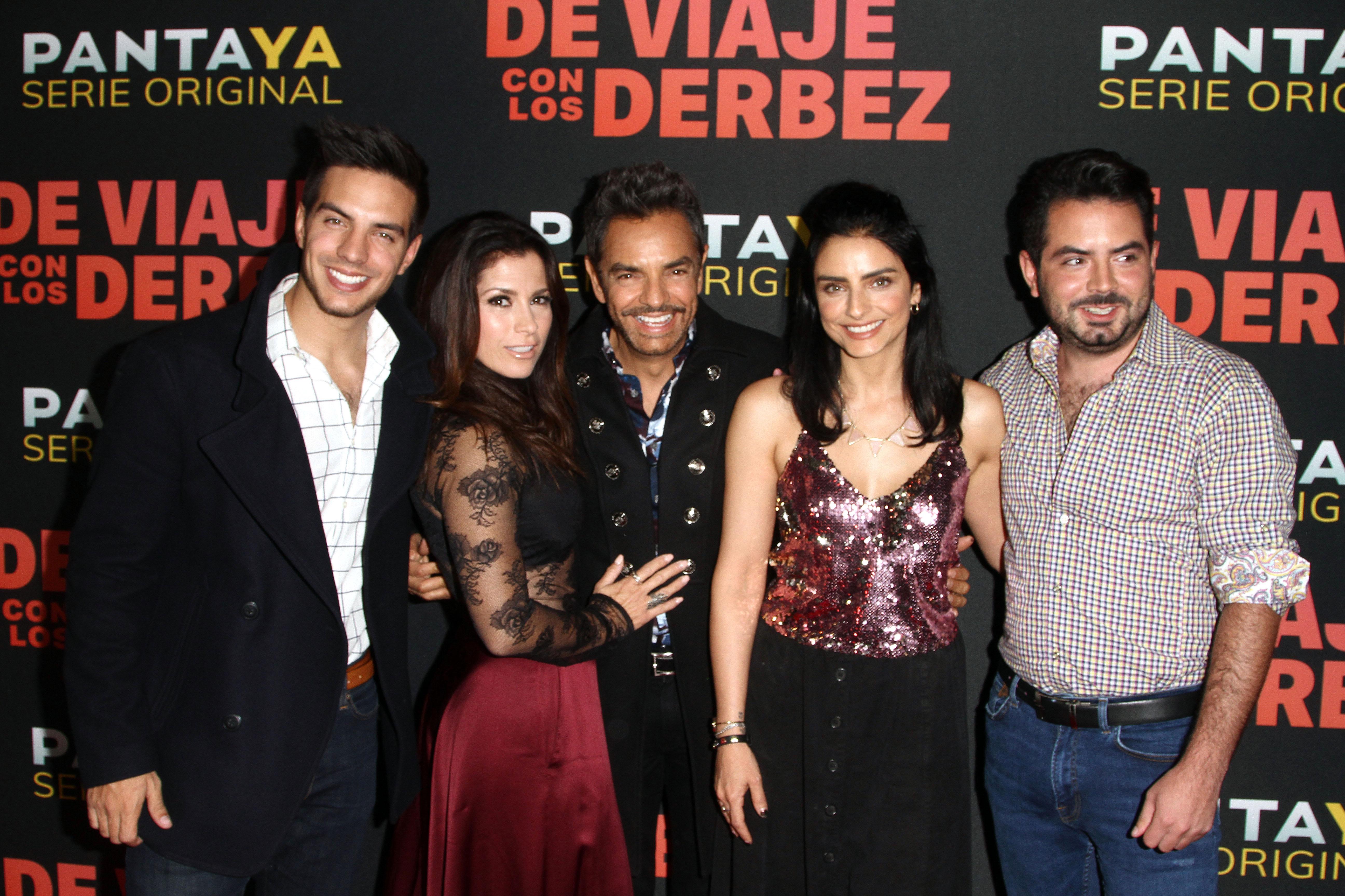 Vadhir Derbez, Alessandra Rosaldo, Aislinn Derbez , Eugenio Derbez, José Eduardo Derbez