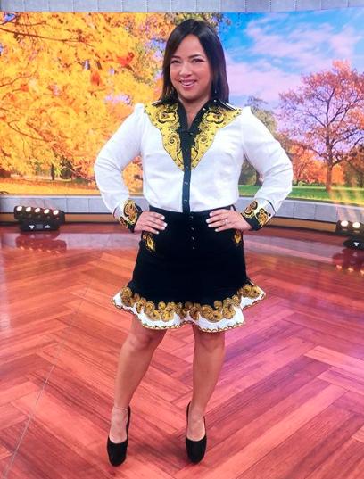 Adamari López, looks, un nuevo dia