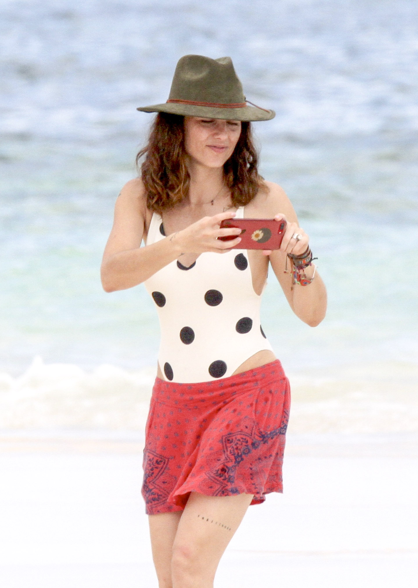 Bárbara Mori bikini tulum
