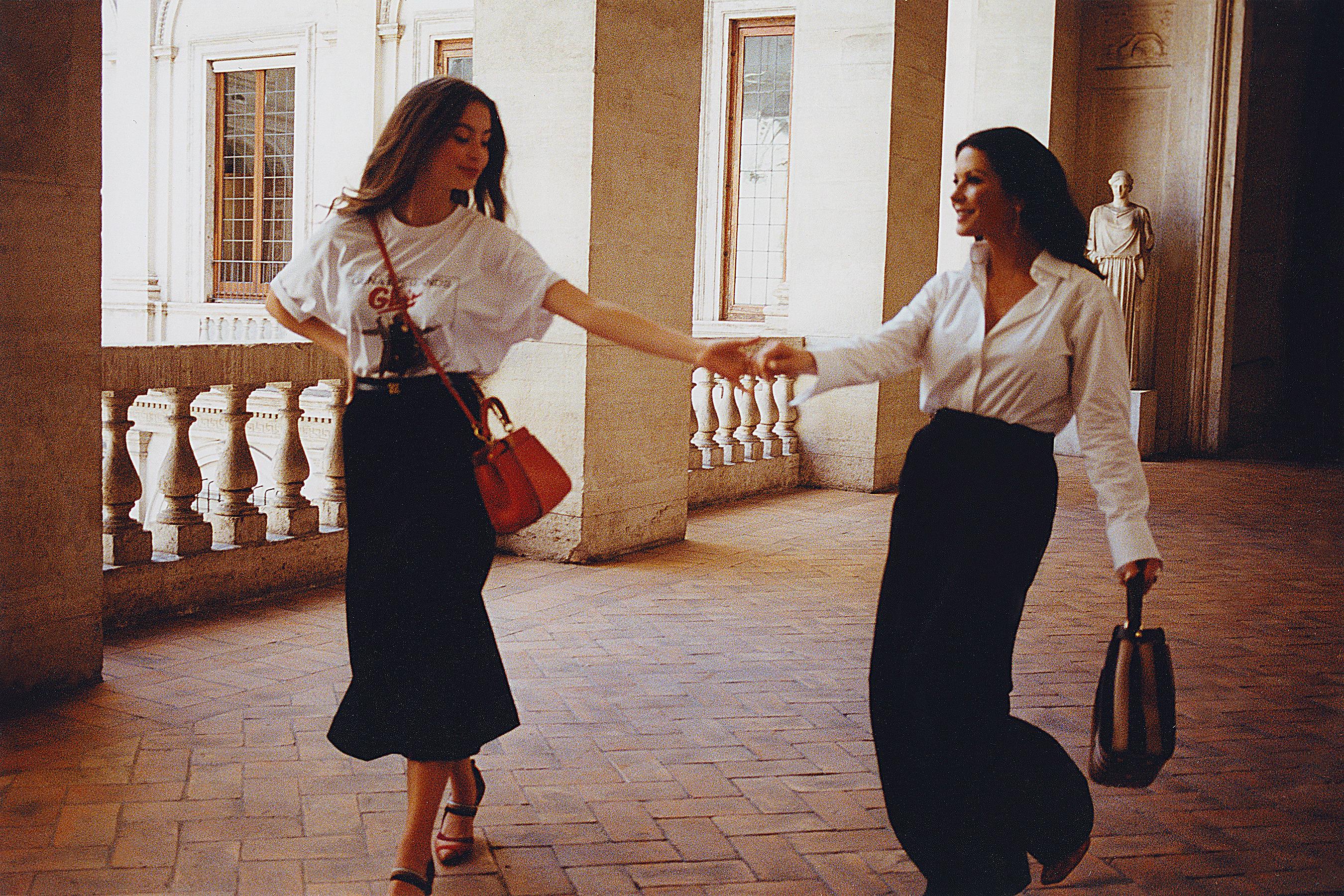 Catherine Zeta-Jones y su hija Carys Zeta Douglas - Campaña de FENDI