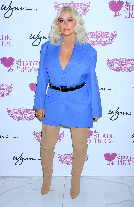 Christina Aguilera, looks