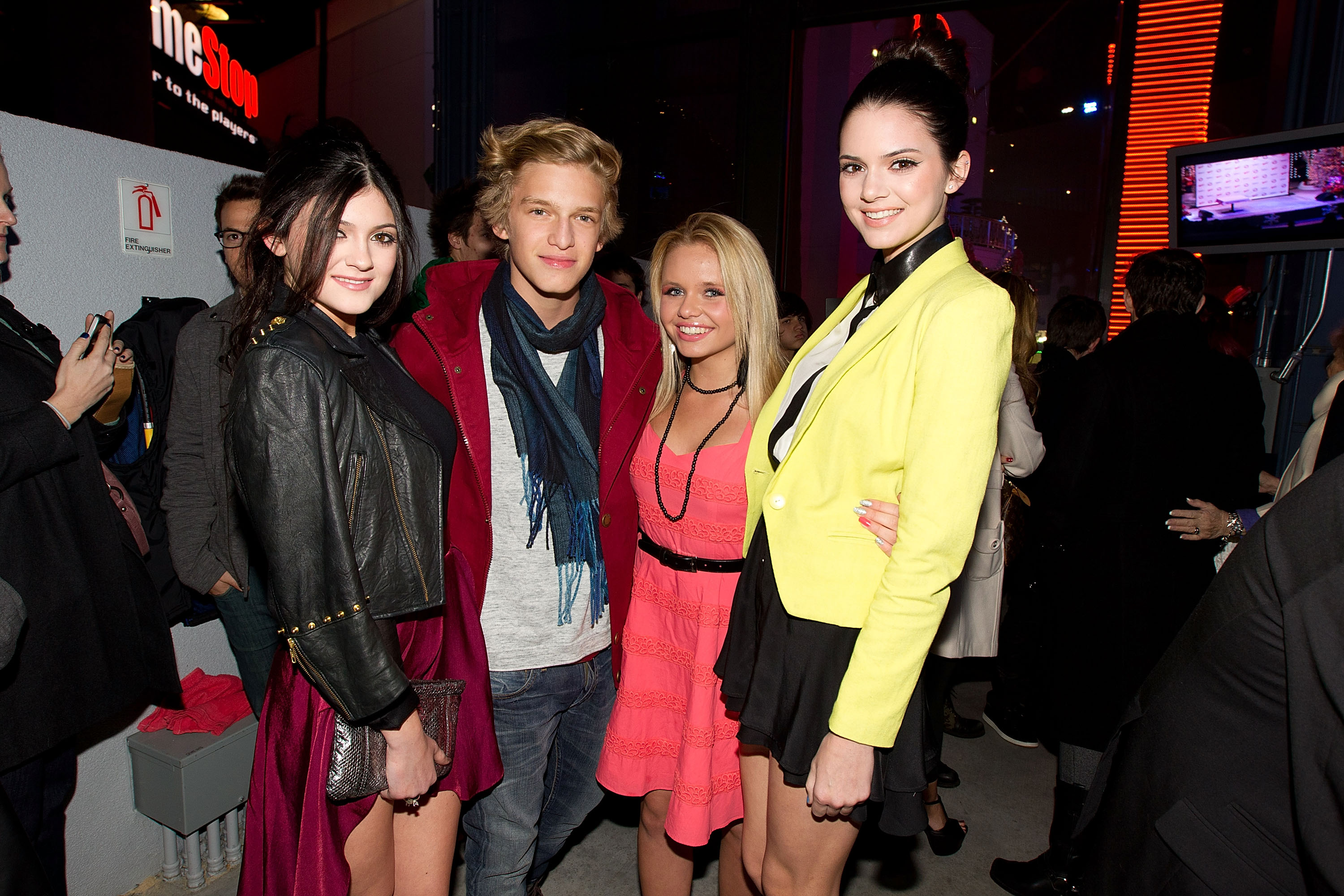 Kylie Jenner y Cody Simpson
