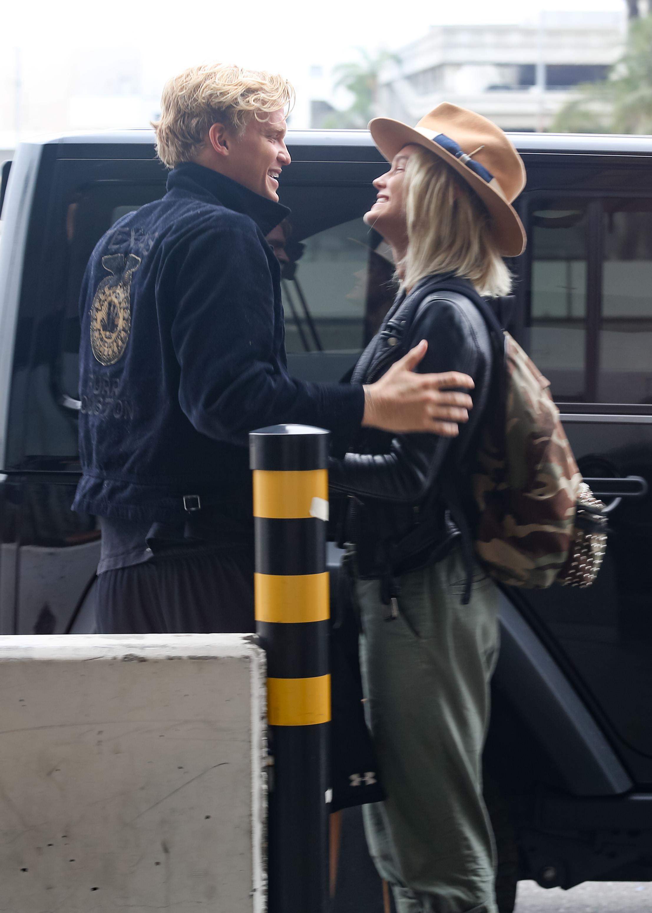 Cody Simpson and his girlfriend Clair Wuestenberg