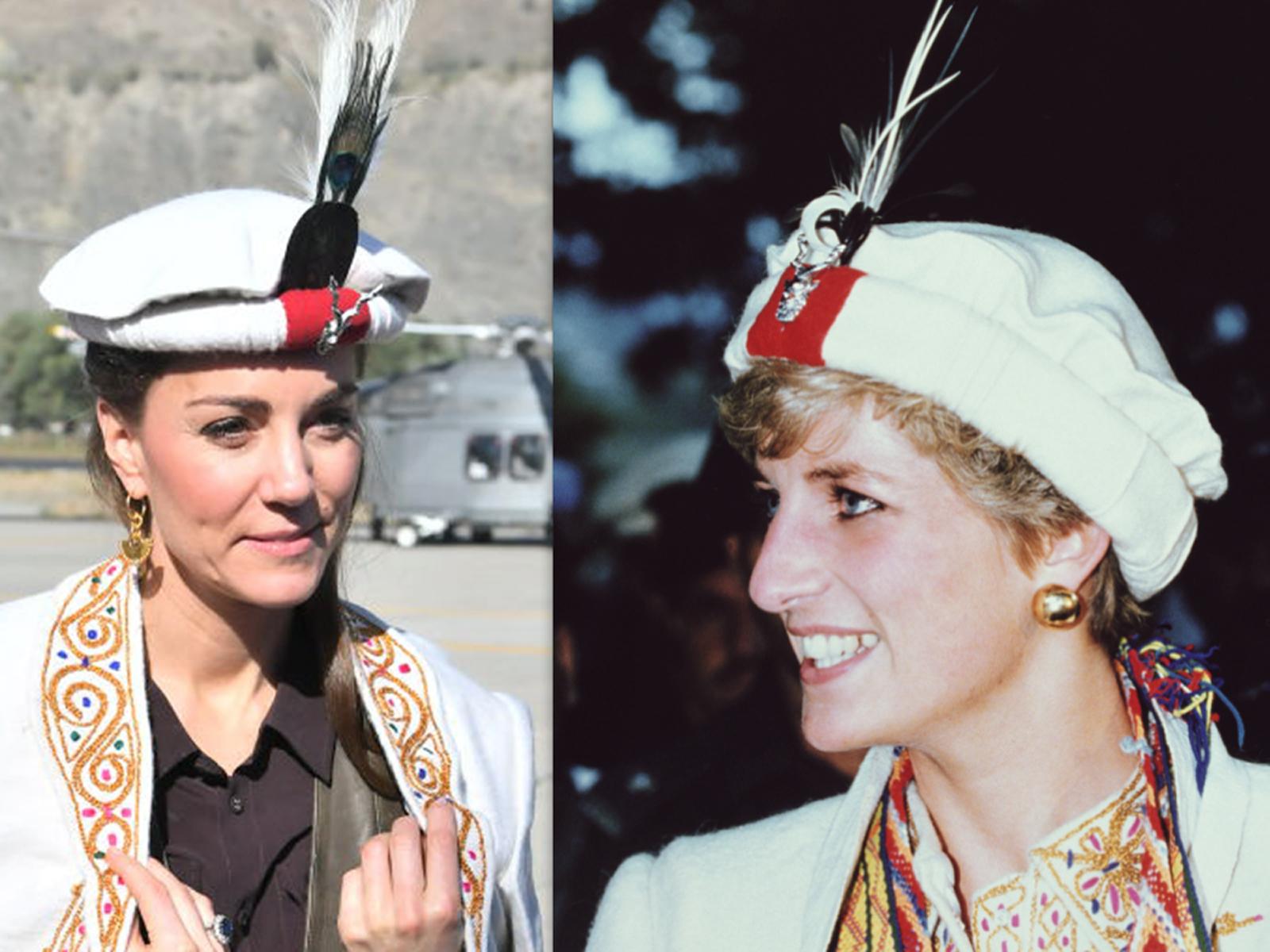 Kate y Lady Di