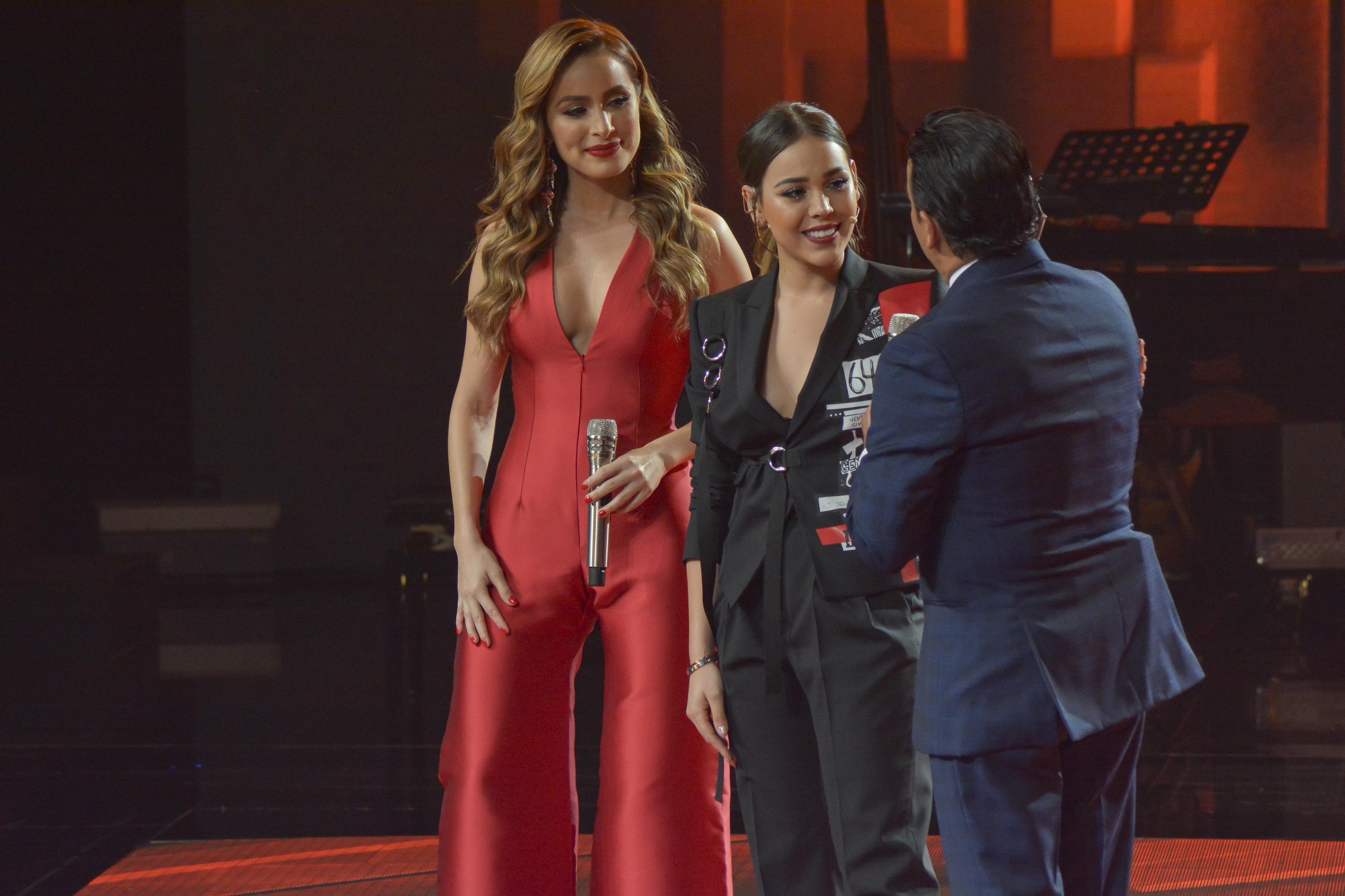 Cynthia Rodríguez, Danna Paola, Adal Ramones, La Academia 2019