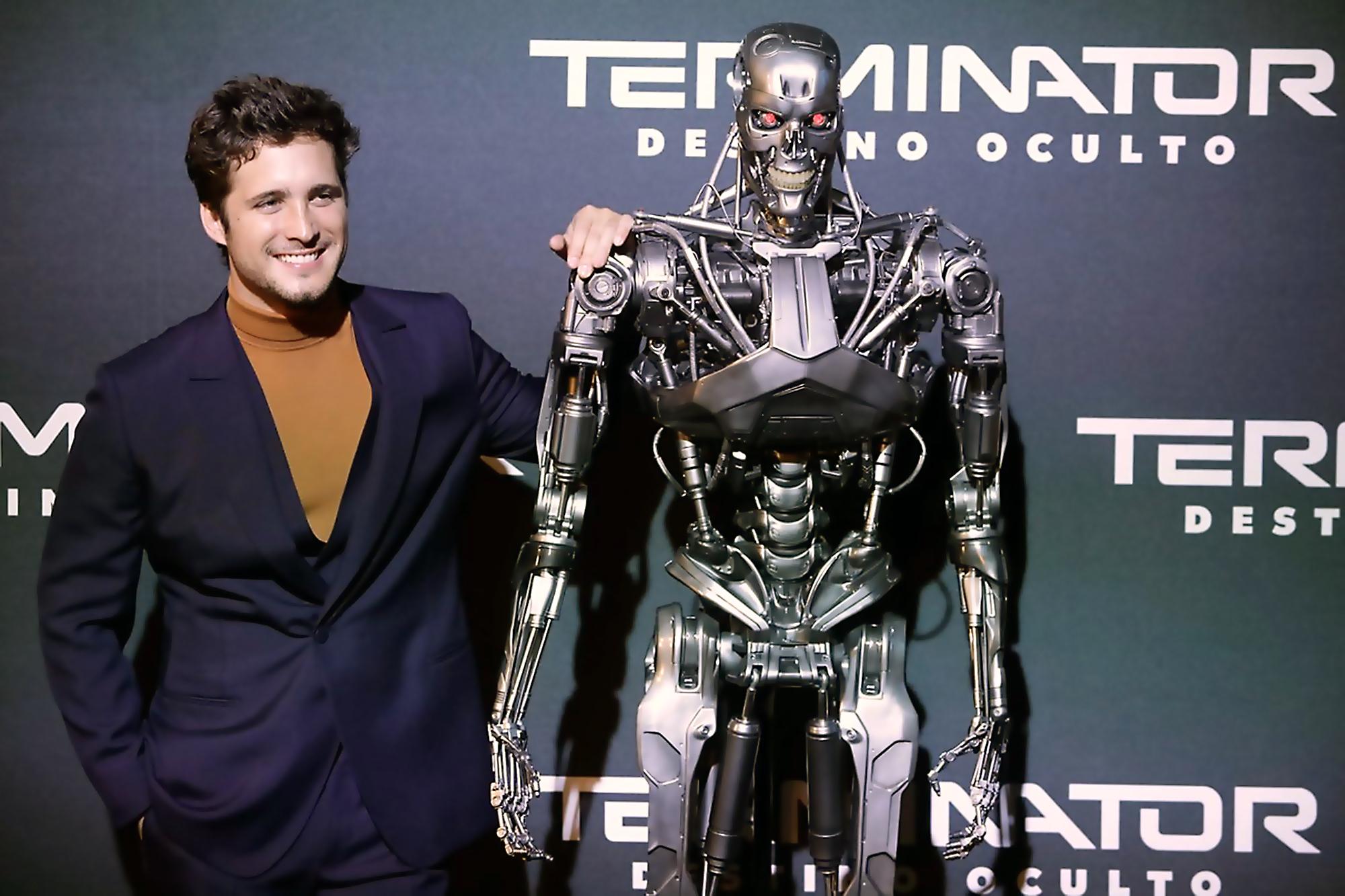 Diego Boneta en mexico Terminator: Dark Fate