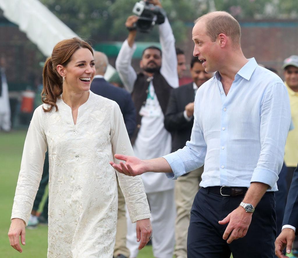Kate y Guillermo en Pakistán