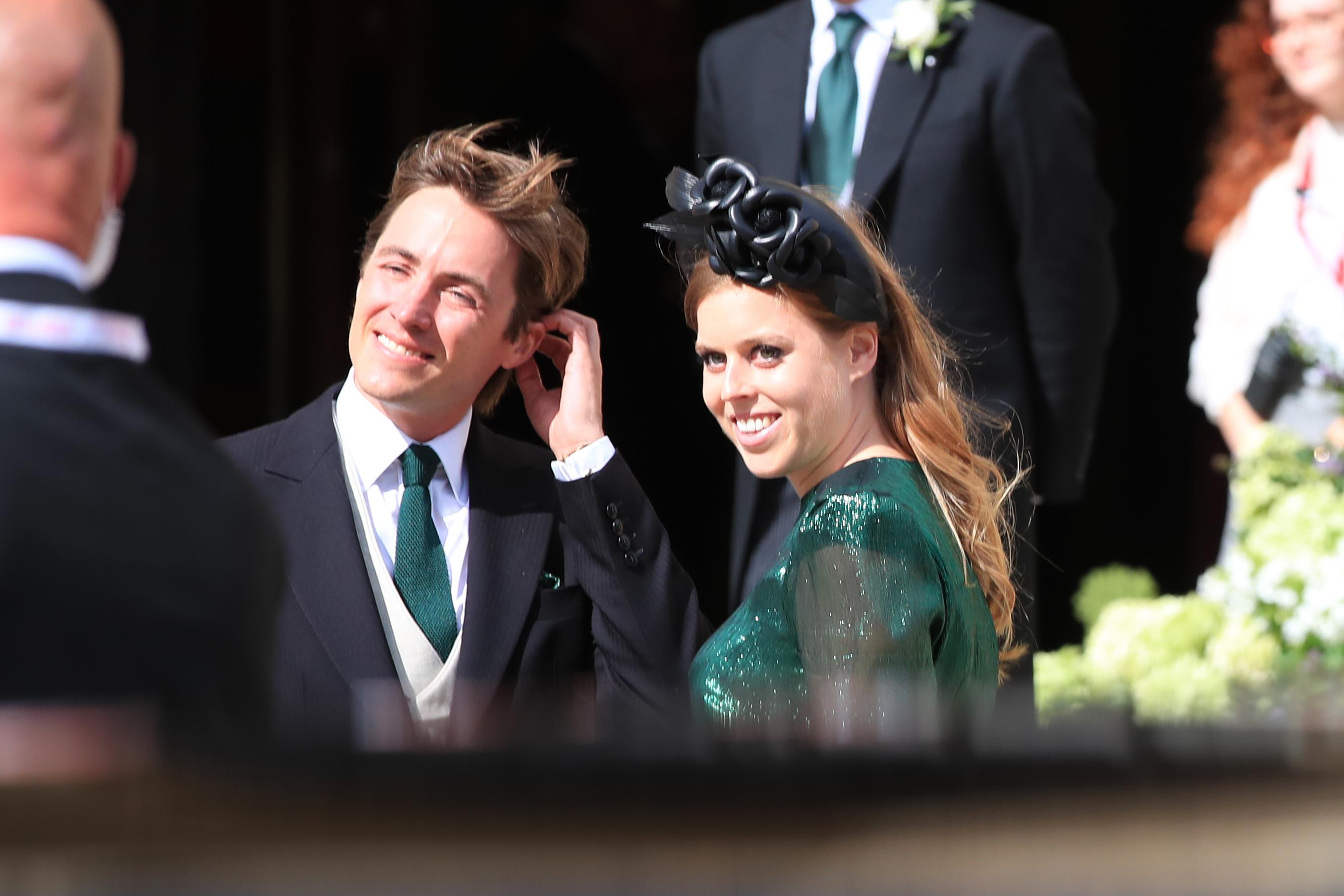 Edoardo Mapelli Mozzi y Princesa Beatriz en York