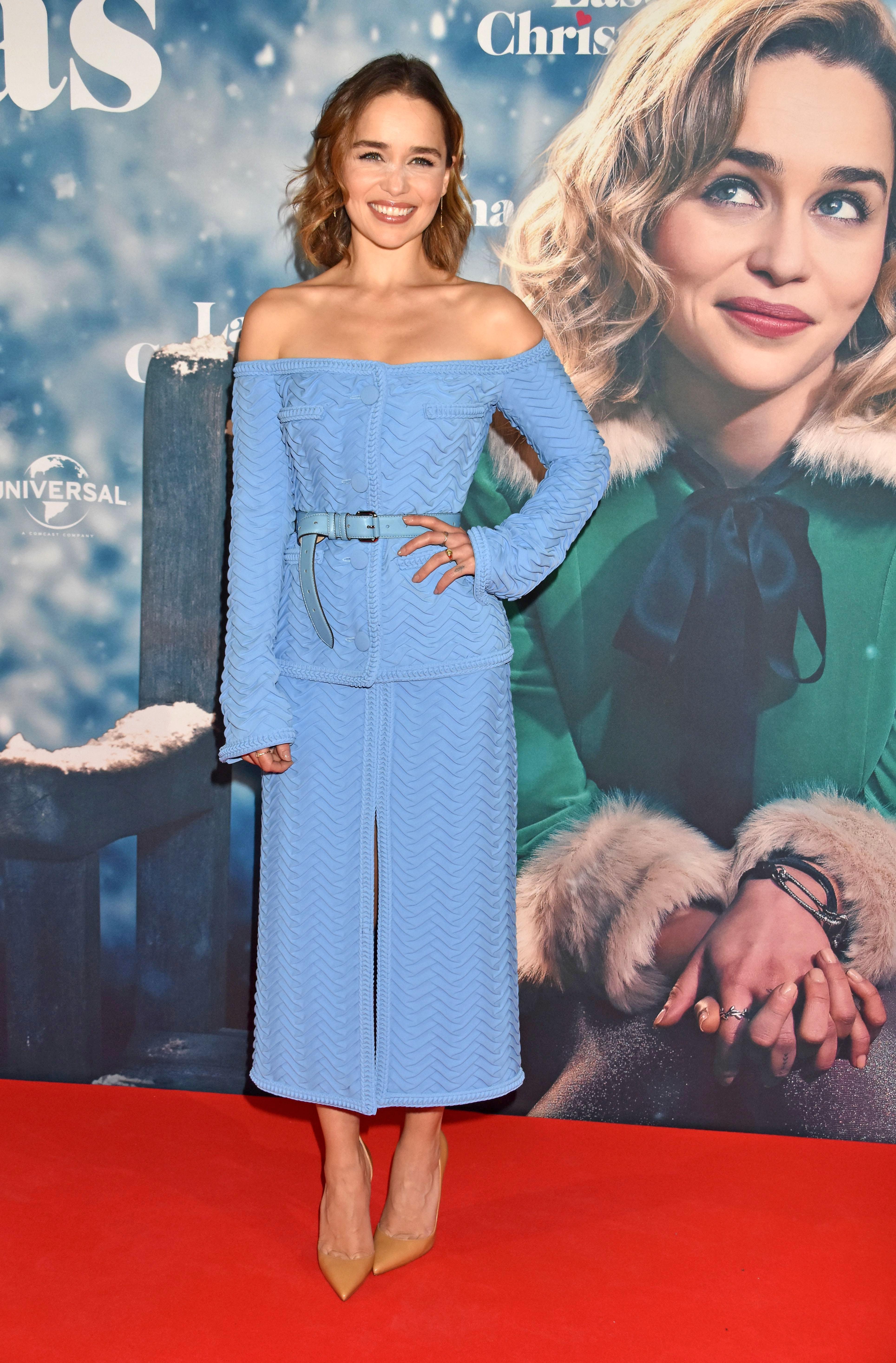 Emilia Clarke, looks
