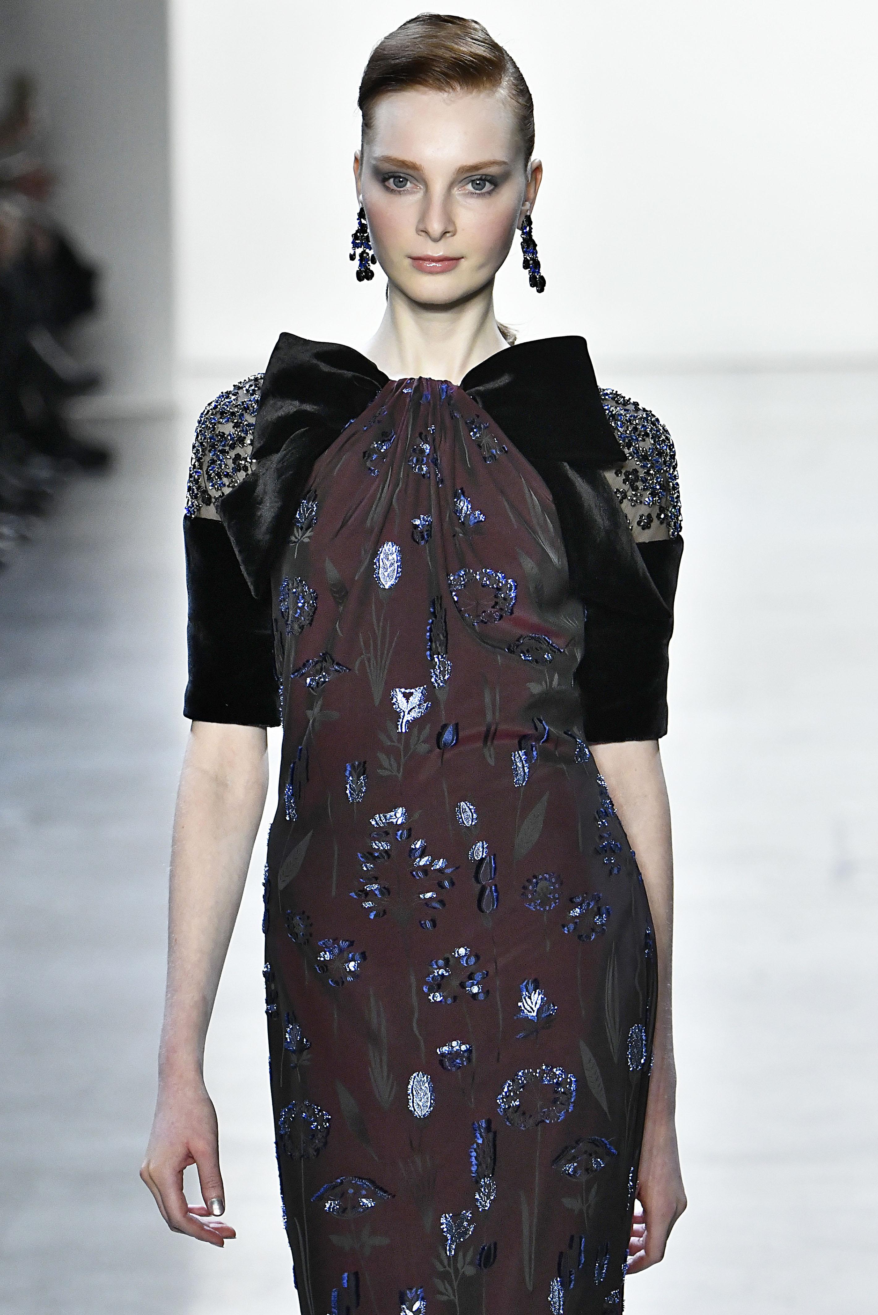 Badgley Mischka - Runway - February 2019 - New York Fashion Week