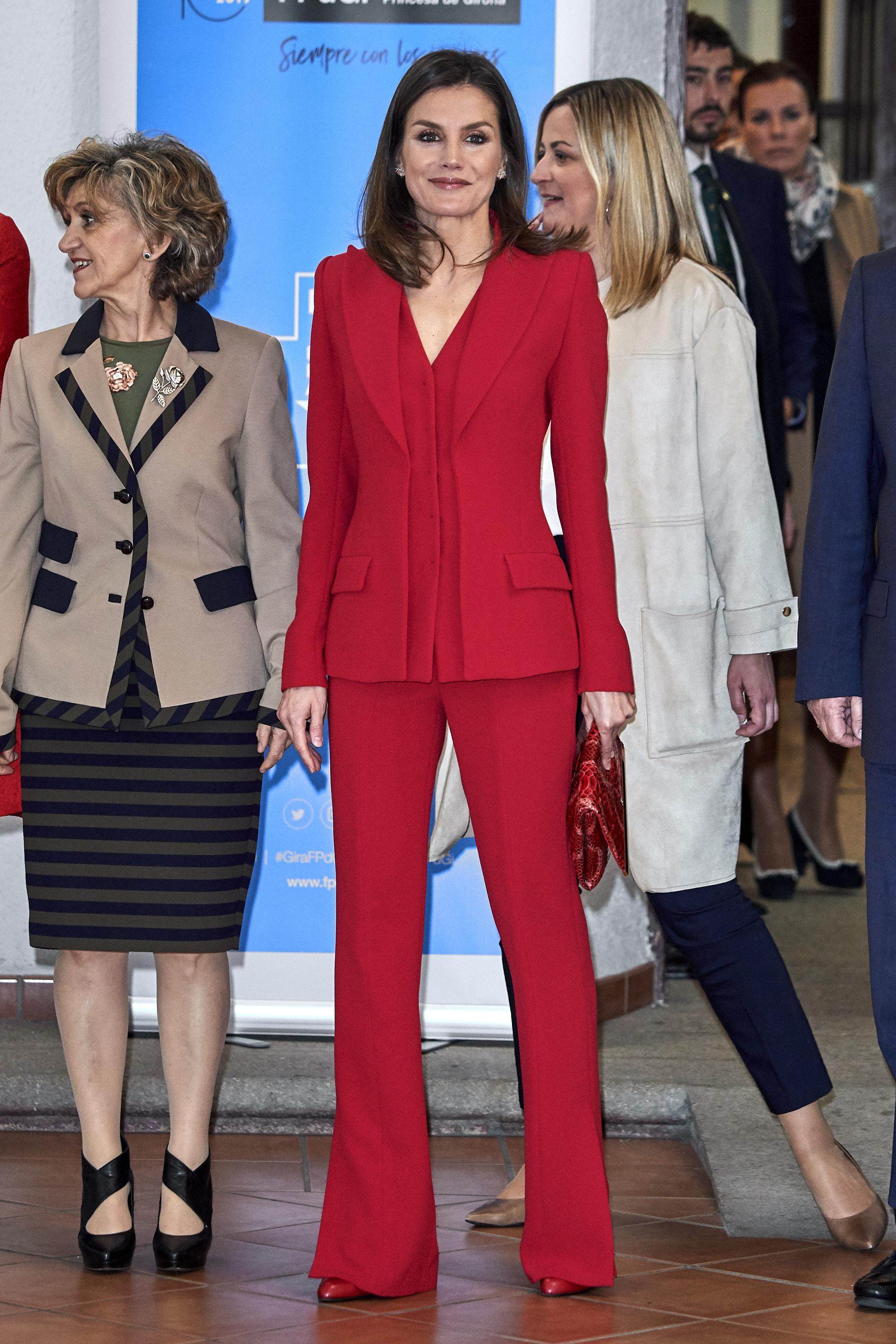 Queen Letizia Of Spain Attends 'Premio Fundacion Princesa De Girona 2019' In Caceres