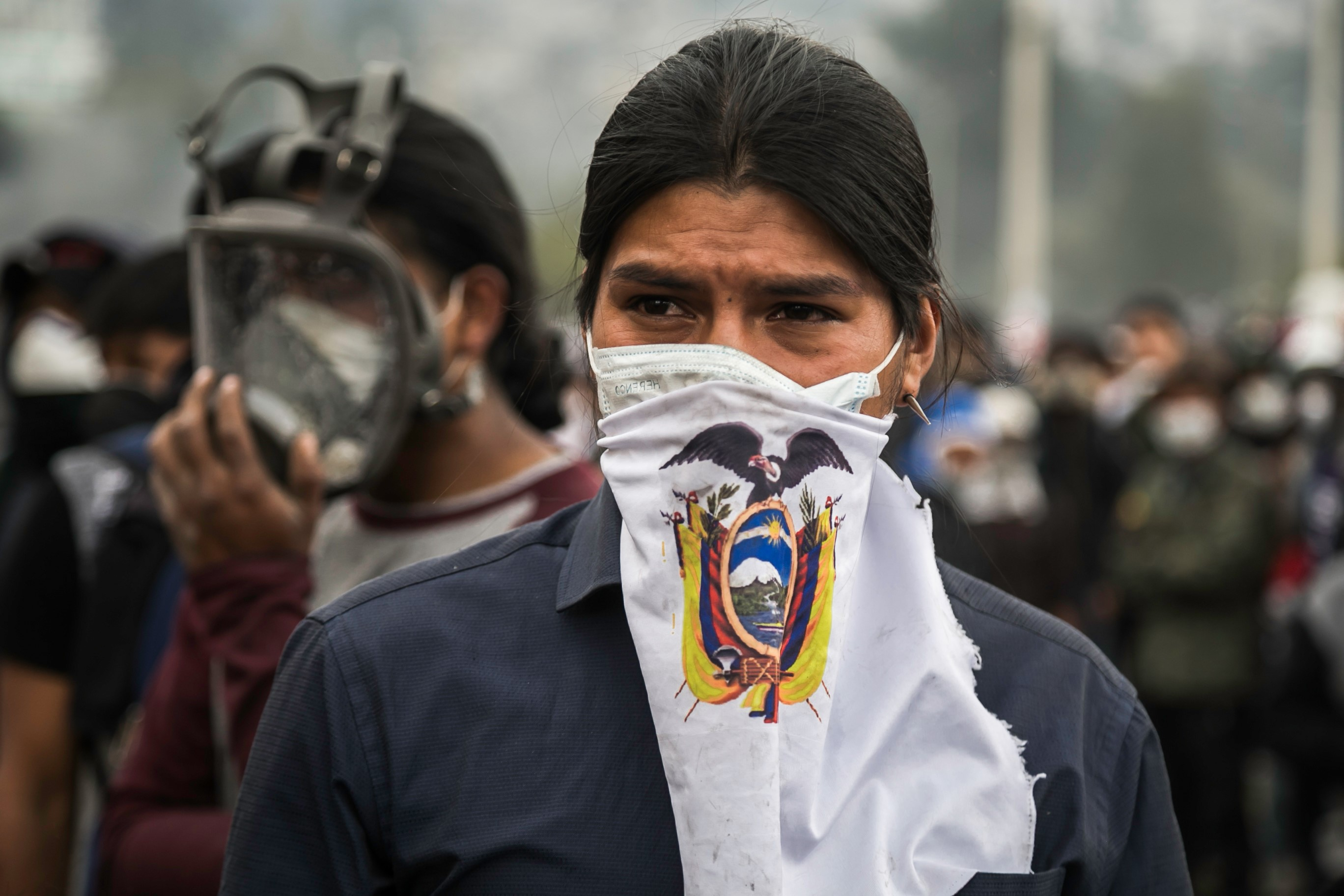 Protest against economic reforms in Ecuador