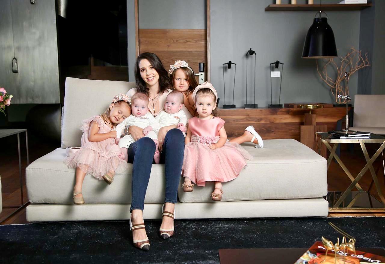 Cinco hijos Giovanna Acha