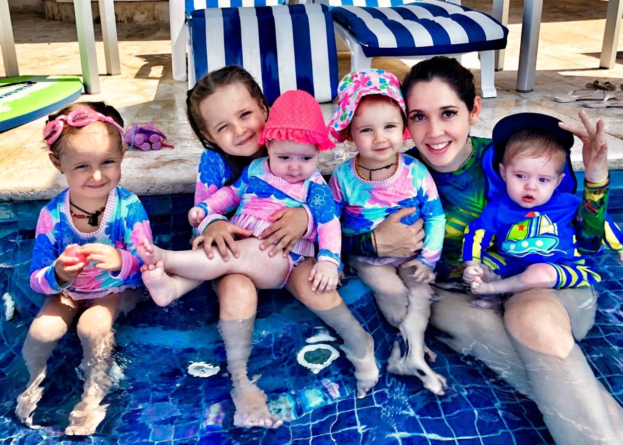 Giovanna Acha cinco hijos