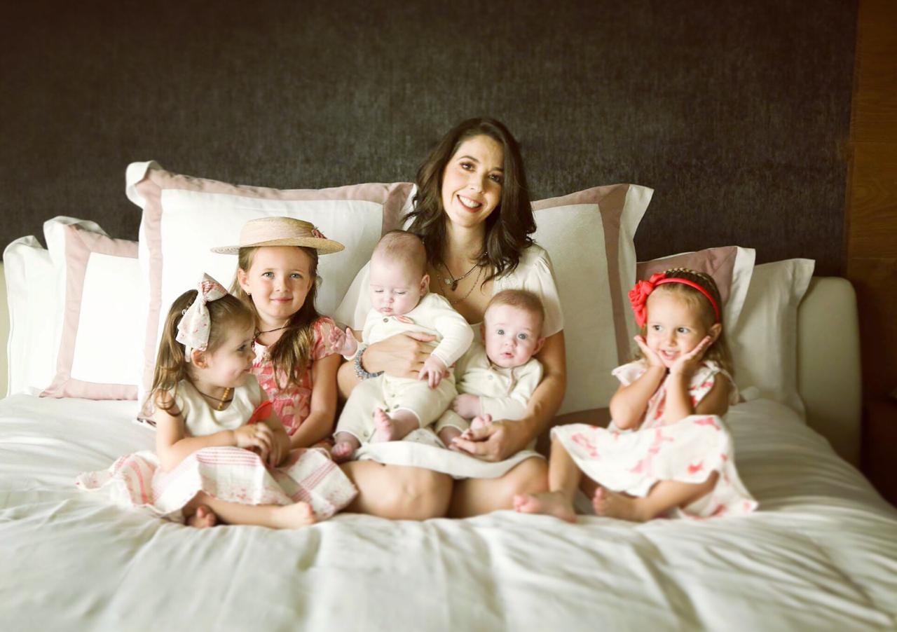 Giovanna Acha familia numerosa