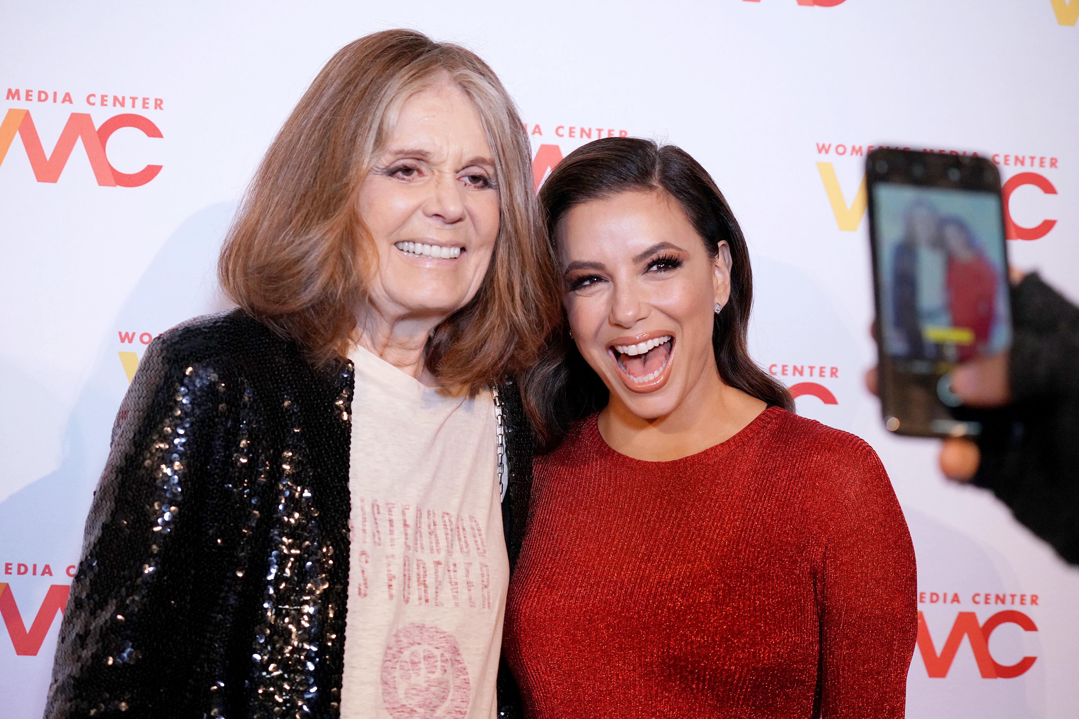 Gloria Steinem, Eva Longoria, Women's Media Awards