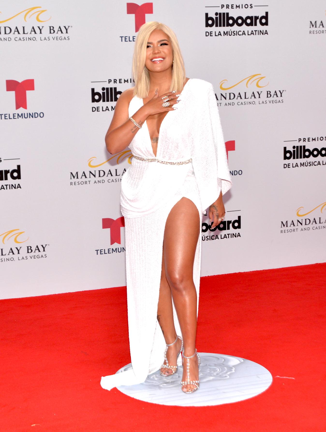 Karol G, Latin Billboard 2019, vestido