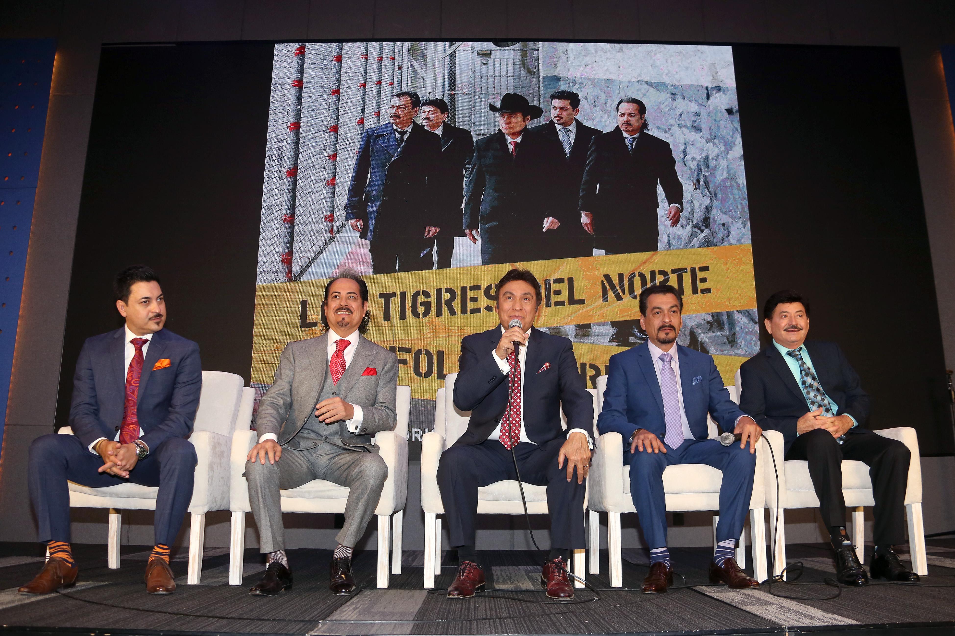 Tigres del Norte, Luis Hernández, Hernán Hernández, Jorge Hernández, Eduardo Hernández, Oscar Lara