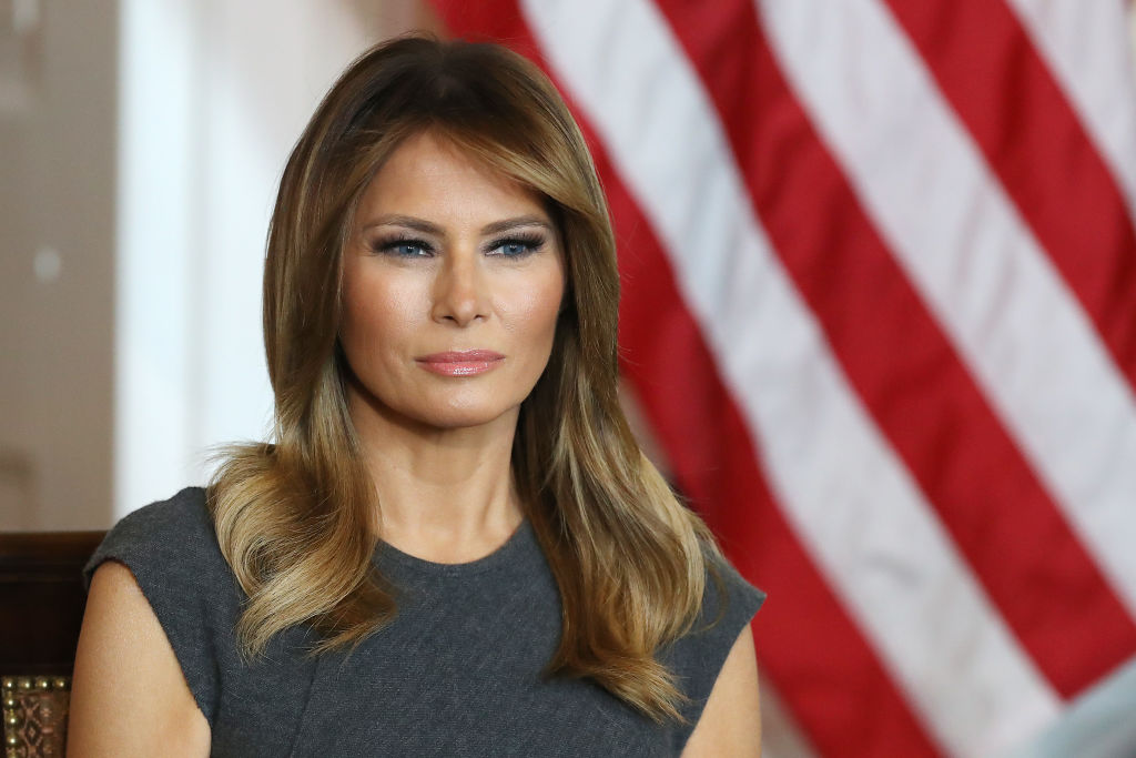 First Lady Melania Trump Meets With Teens To Discuss Youth Vaping