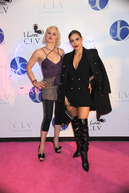 Michelle Vieth y Sara Corrales