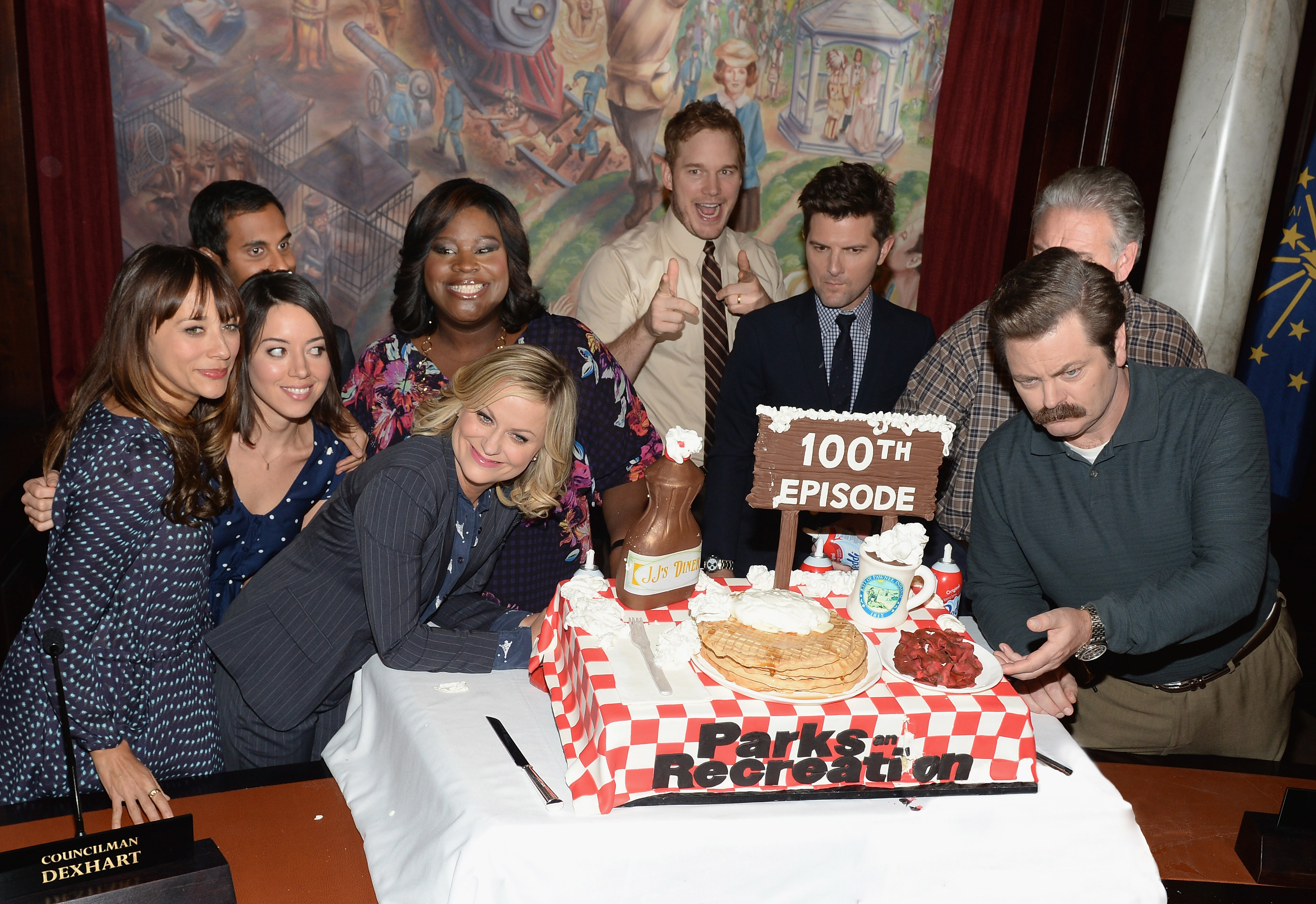 """NBC """"Parks And Recreation"""" 100th Episode Celebration"""