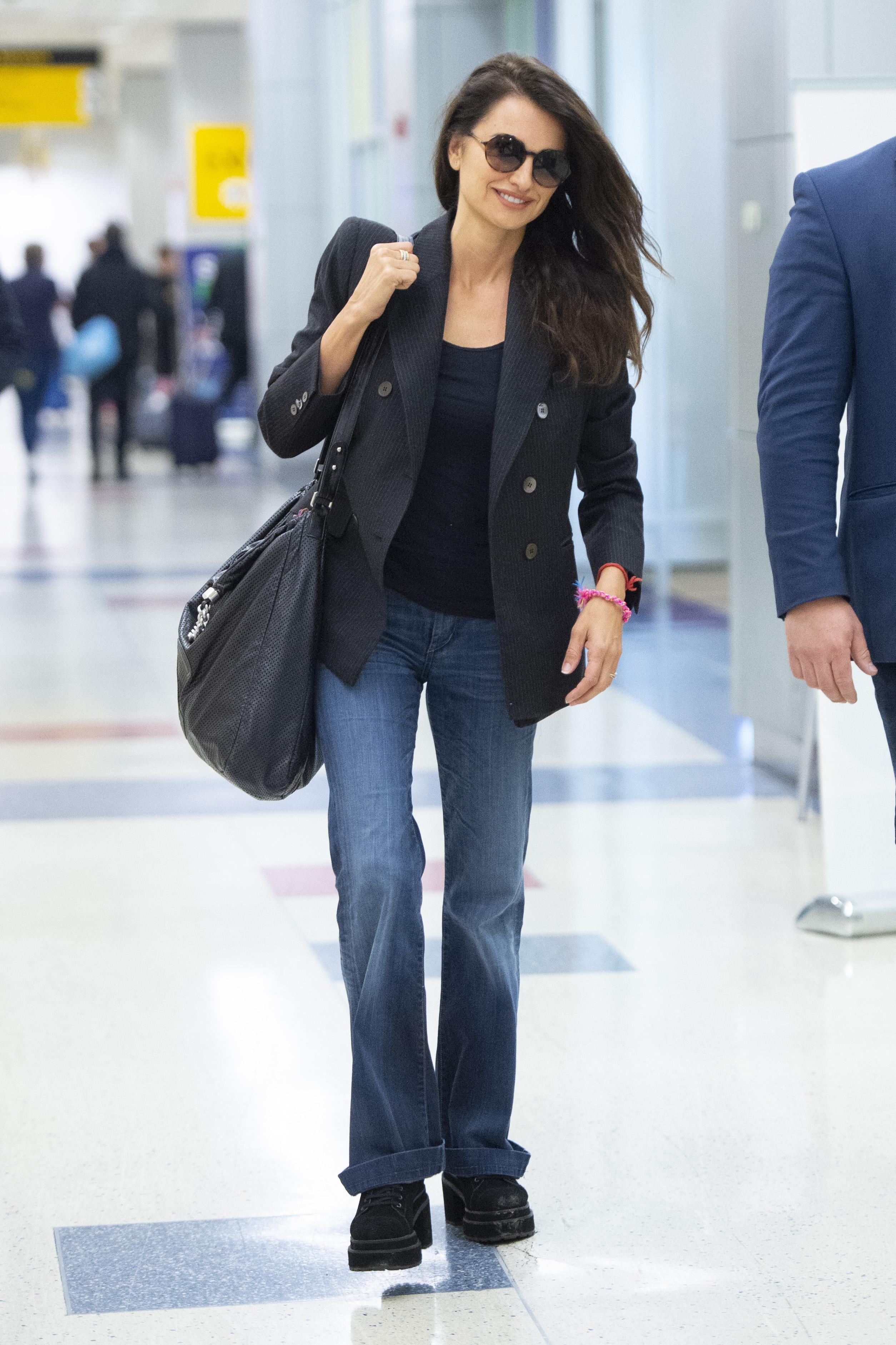 Penelope Cruz, looks, new york
