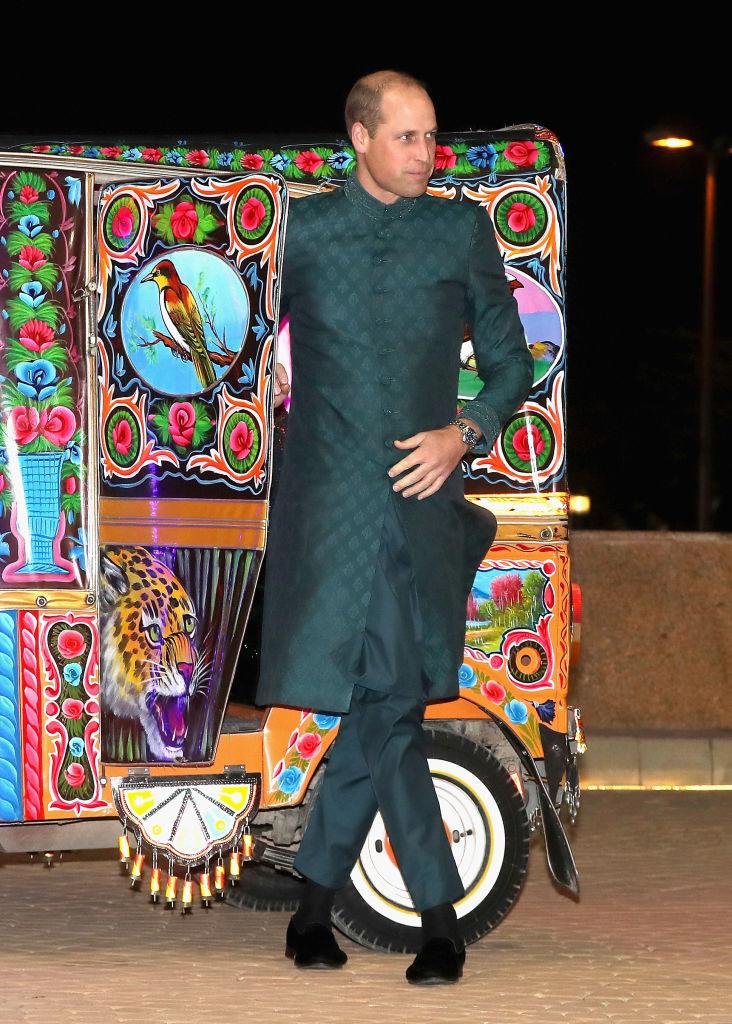 William en Pakistán