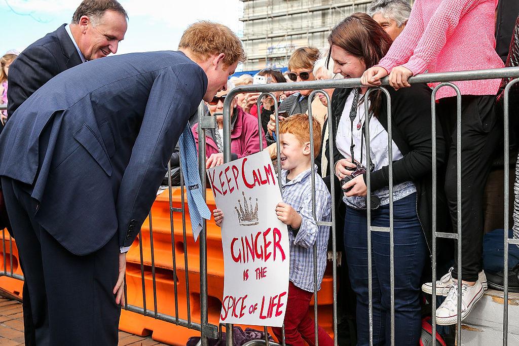 Príncipe Harry New Zealand