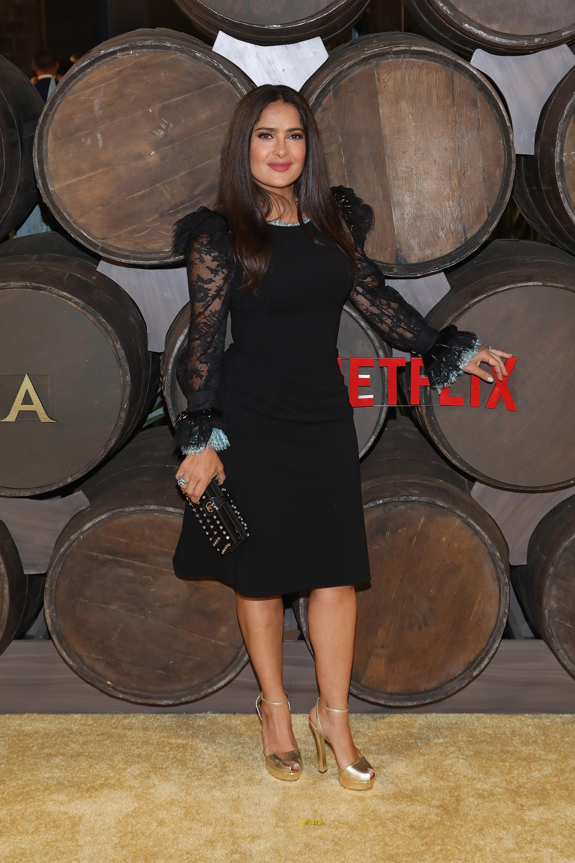 Salma Hayek, looks