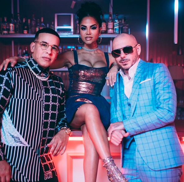 Pitbull Daddy Yankee Natti Natasha