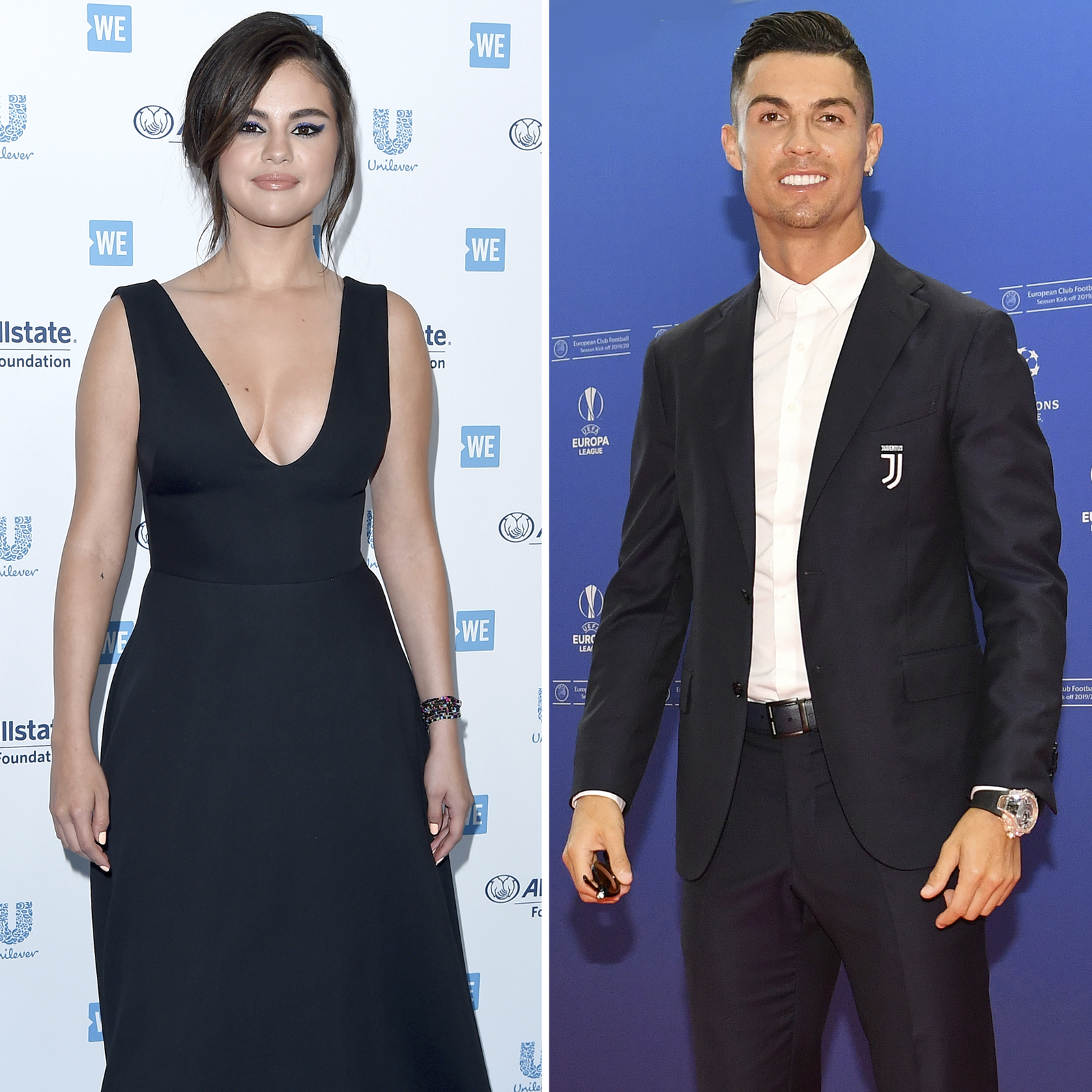 Selena Gomez y Cristiano Ronaldo