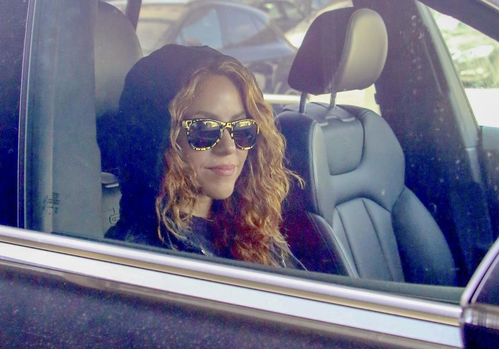 Shakira aeropuerto barcelona