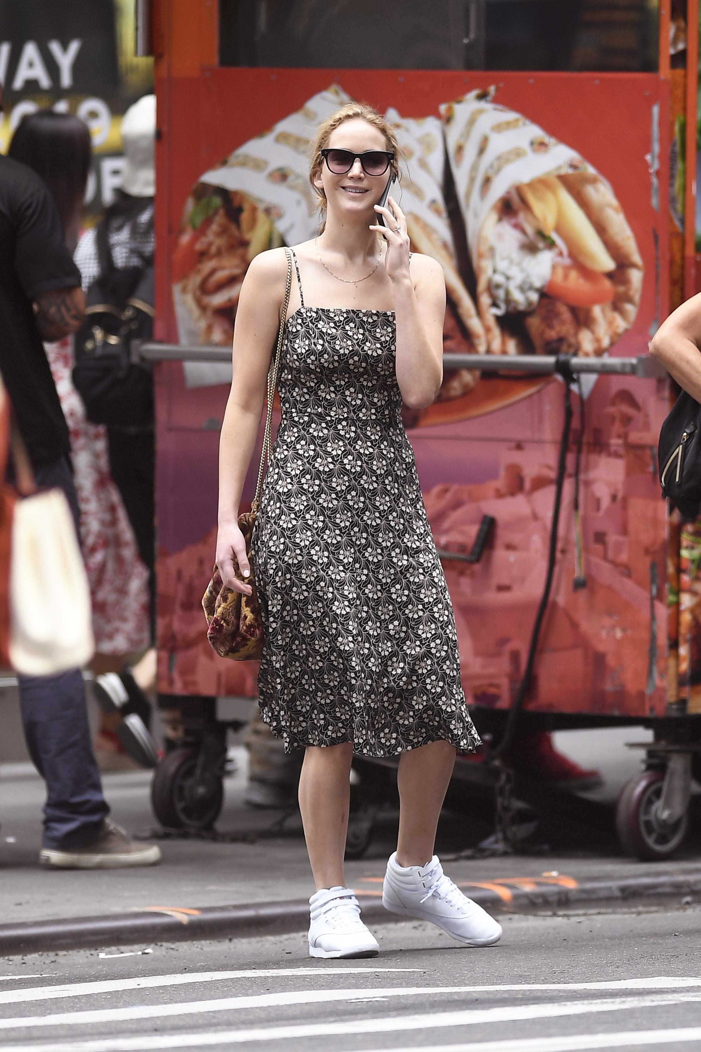 Jennifer Lawrence, looks, New york