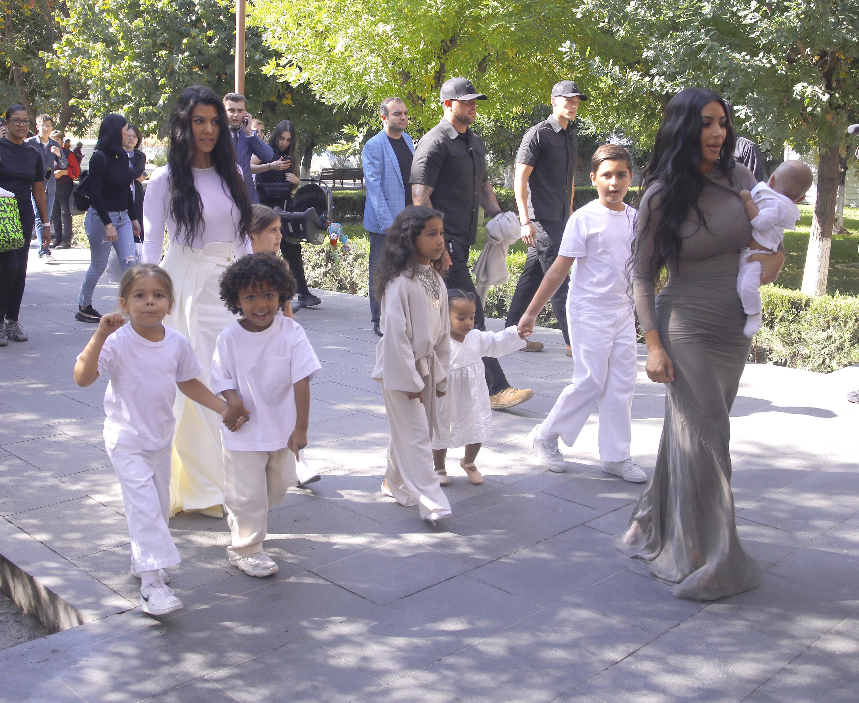 North West, Saint West, Kim Kardashian, Chicago West
