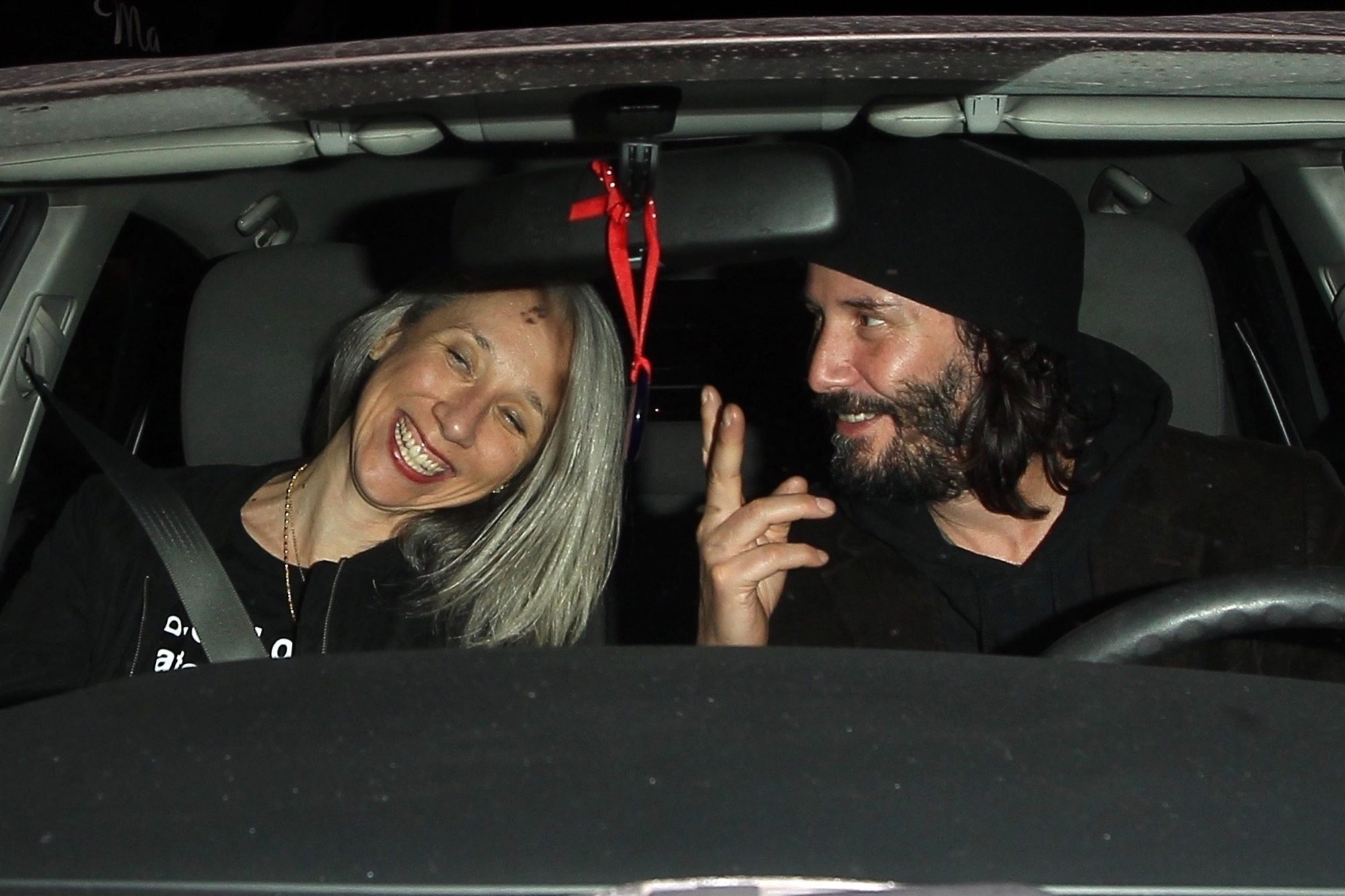 Keanu Reeves Grabs Dinner With a Mystery Woman in West Hollywood